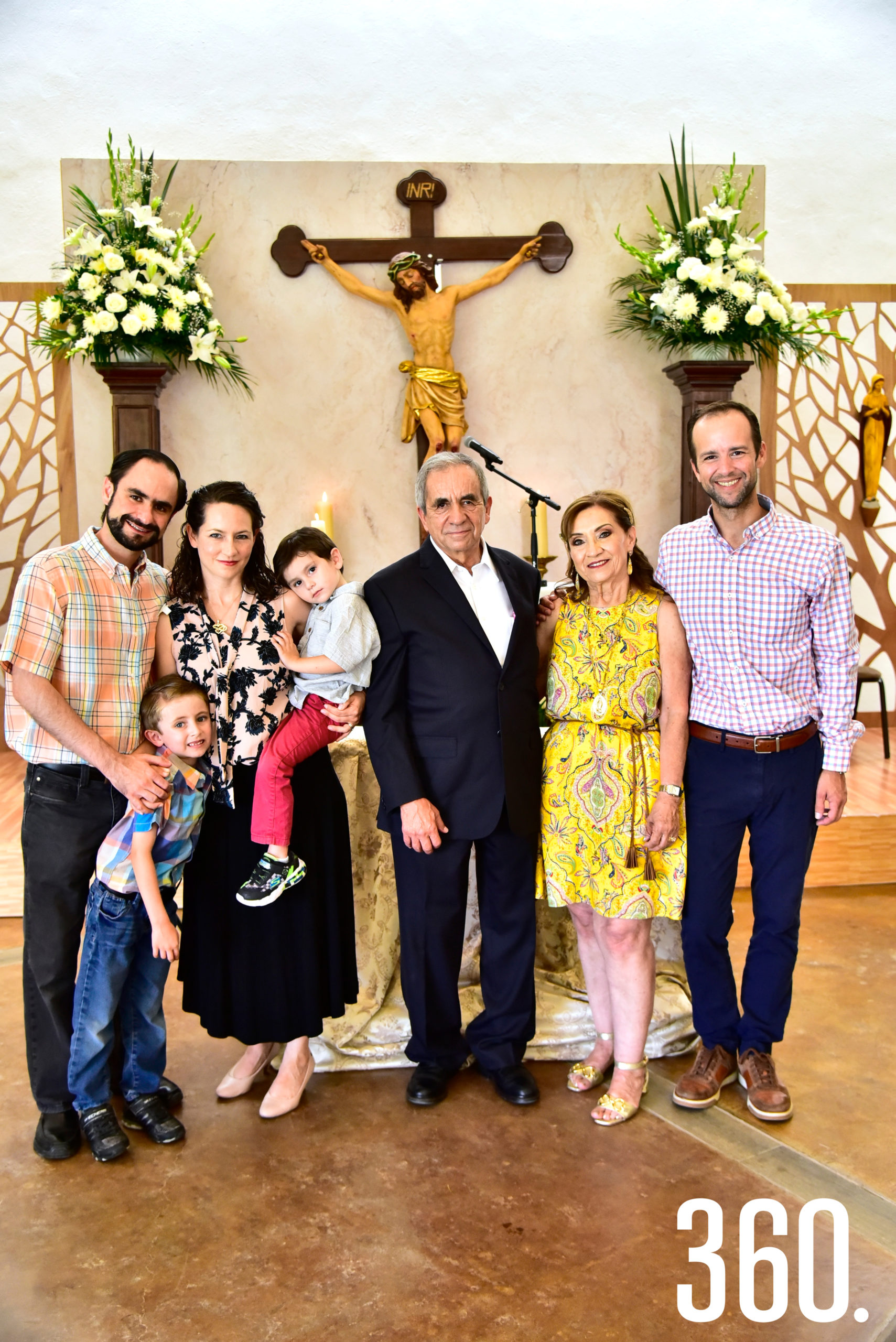 Gabriel Cruz, Gabrielito Cruz, Sofía González, Pablo Cruz, Edilberto González, Magdalena Flores y Jorge González Flores.