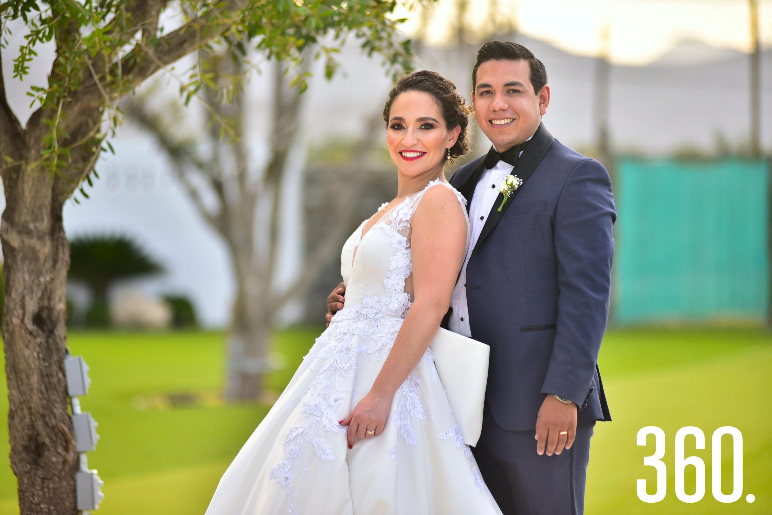 Fabián Trujillo Leija y Ana Cecilia Romero Ramos.