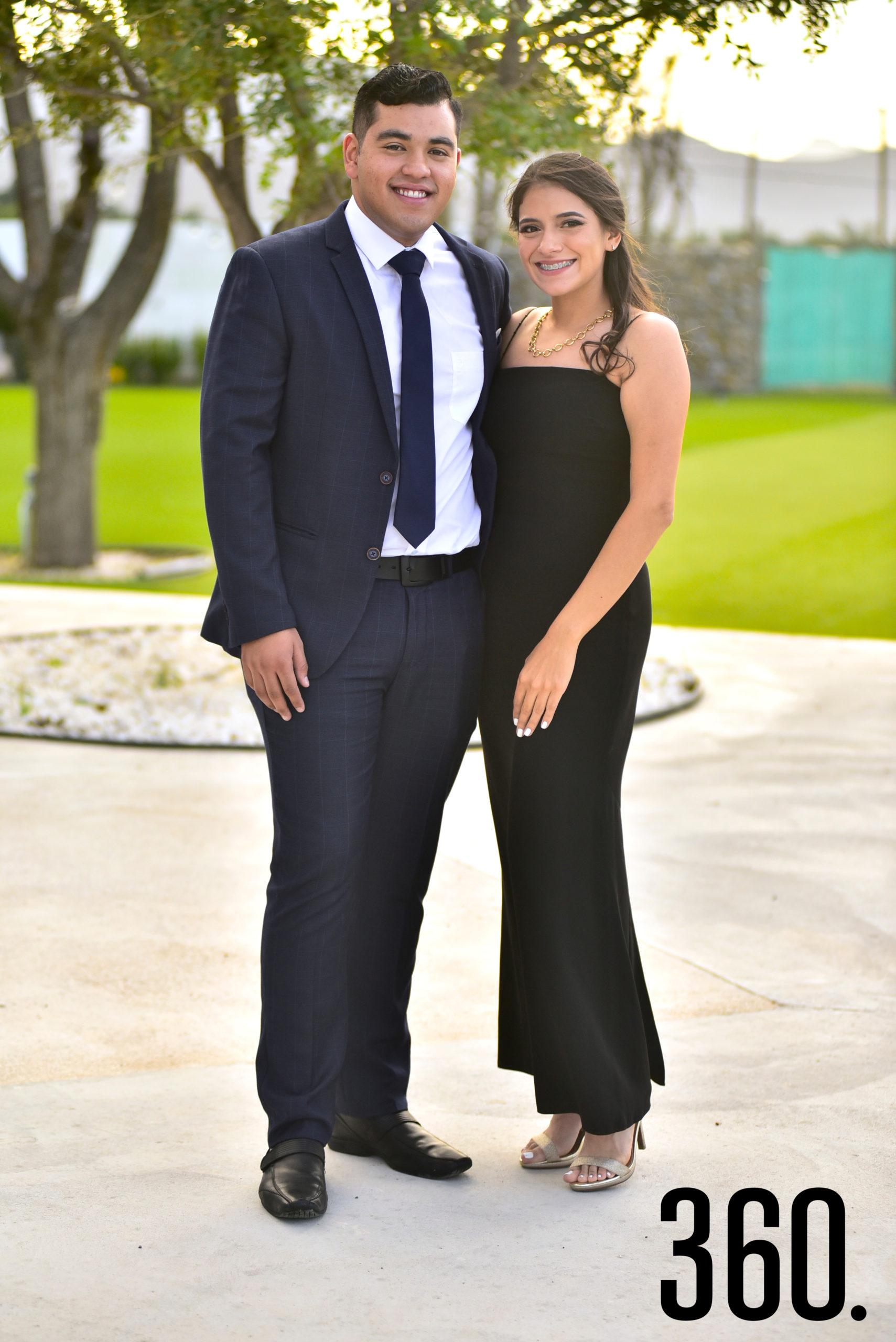 Alonso Almaguer y Mariela Arrazola.