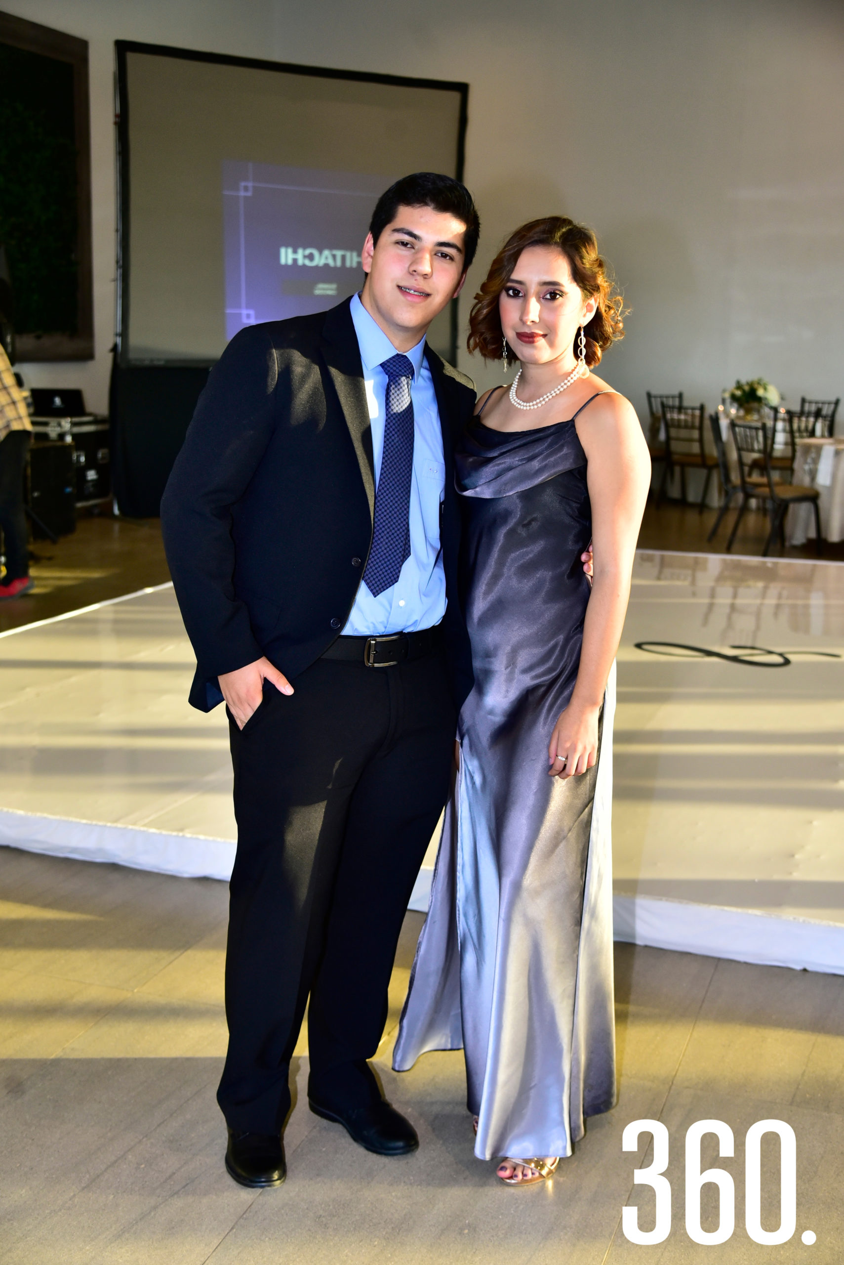 David Almaguer y Natalia Saldaña.