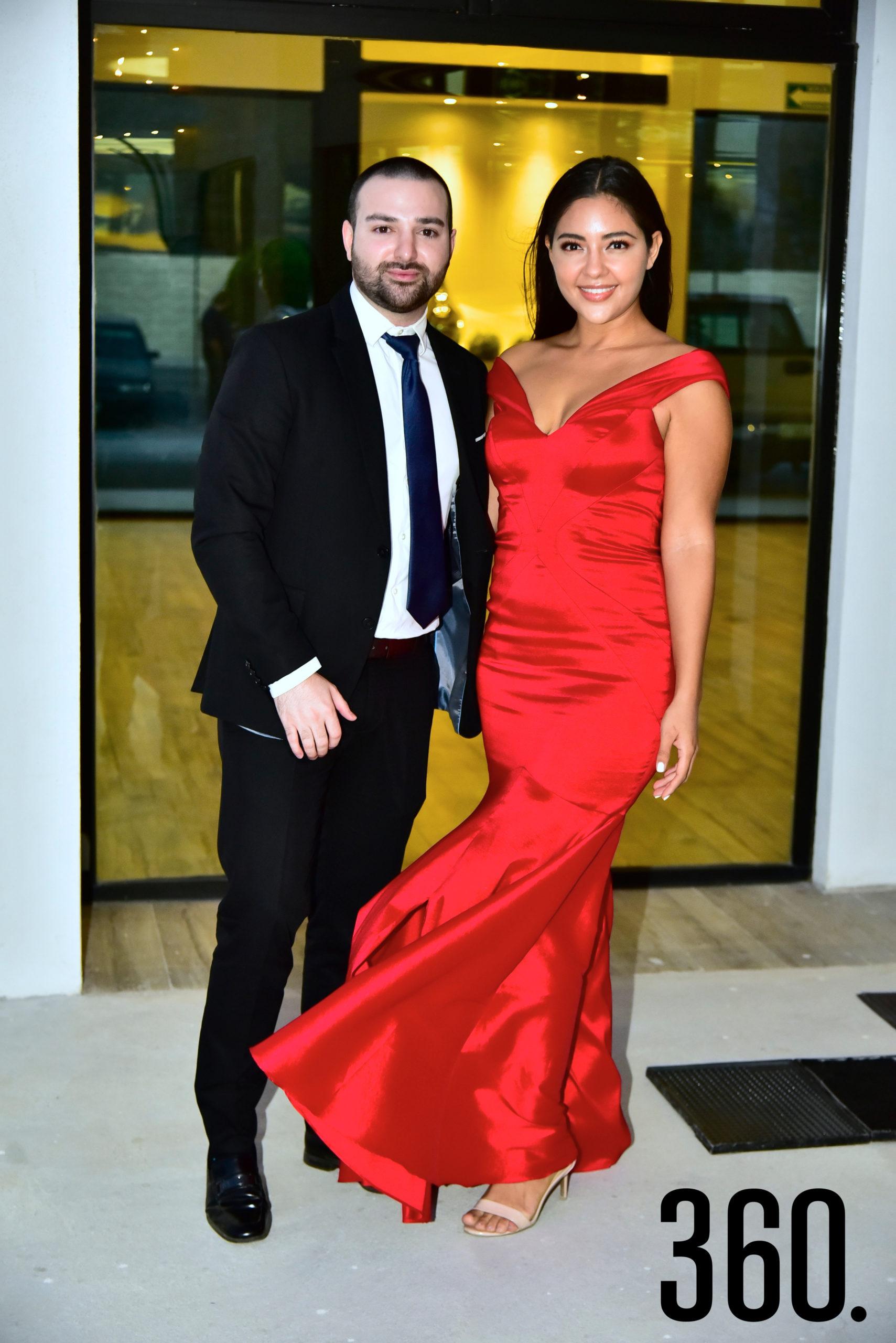 Rodolfo Cadena y Cinthya Cisneros.