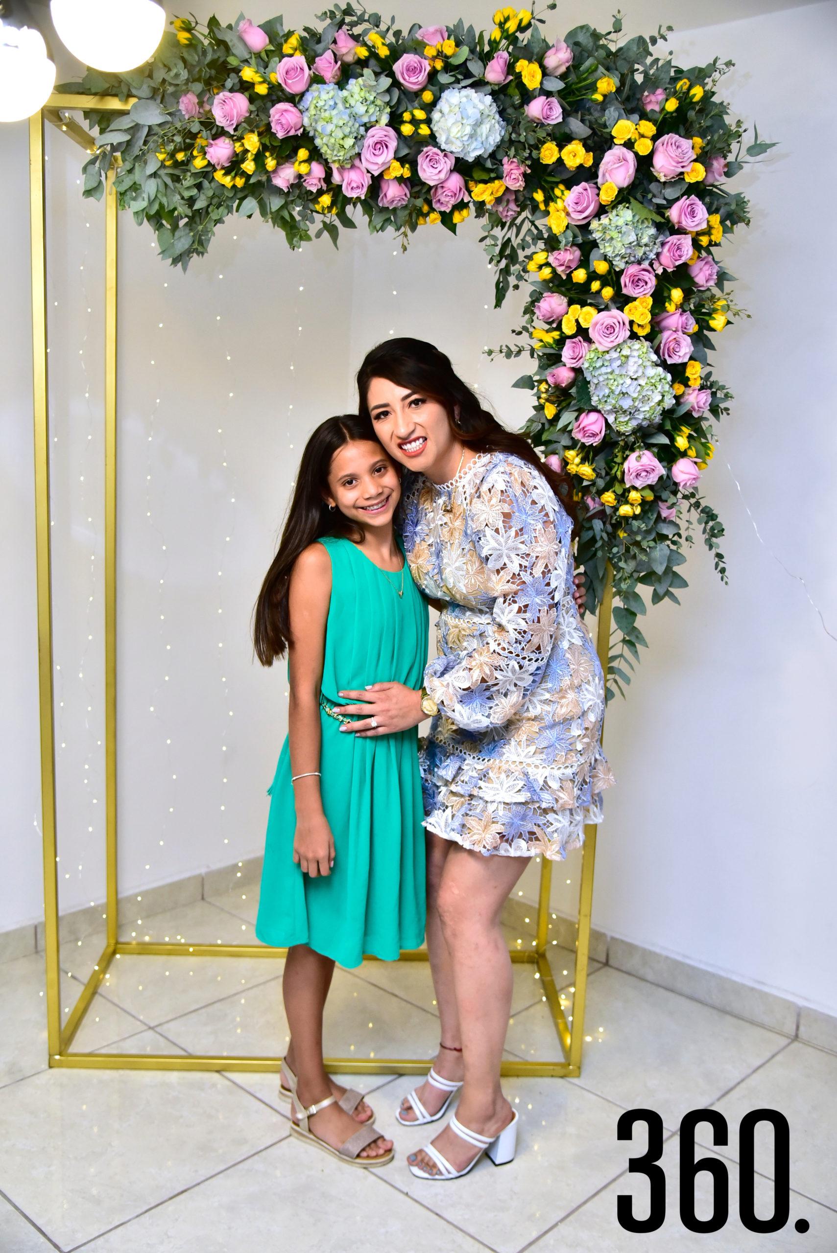 Valentina Jiménez y Janeth Espinosa.
