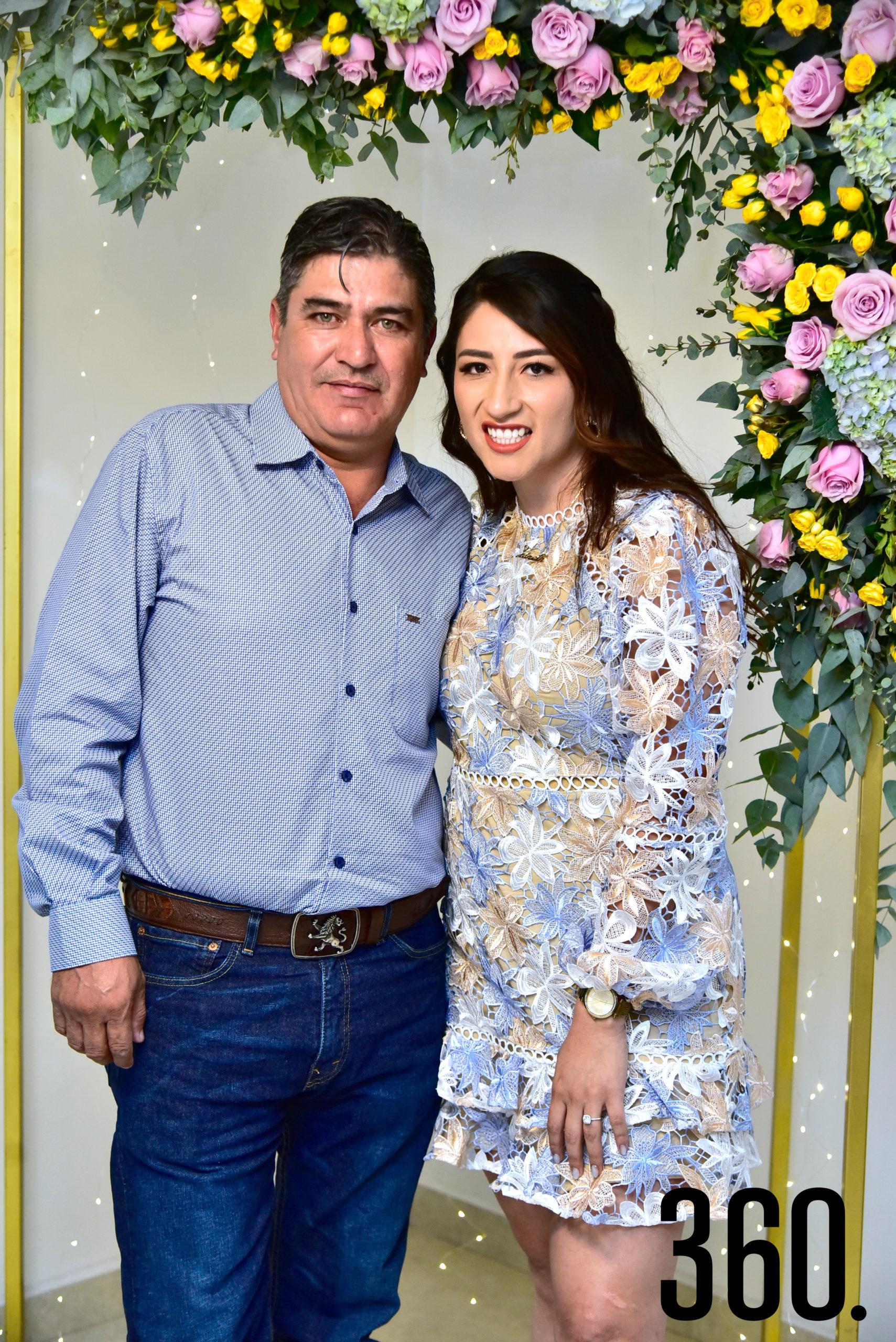 Edgar Espinosa y Janeth Espinosa García.