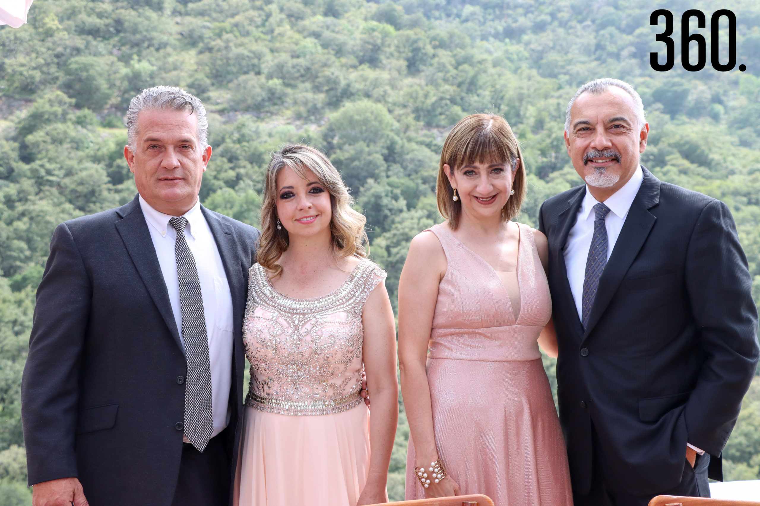 Humberto Castilla, Liliana Martínez, Marycarmen y Rubén Bernal.