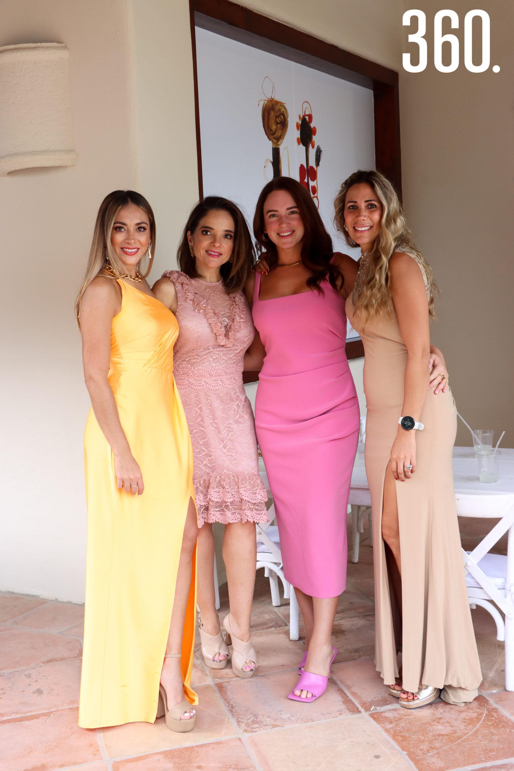 Sandra Castillo, Alejandra Garza, Luza Arizabalo y Daniela José.
