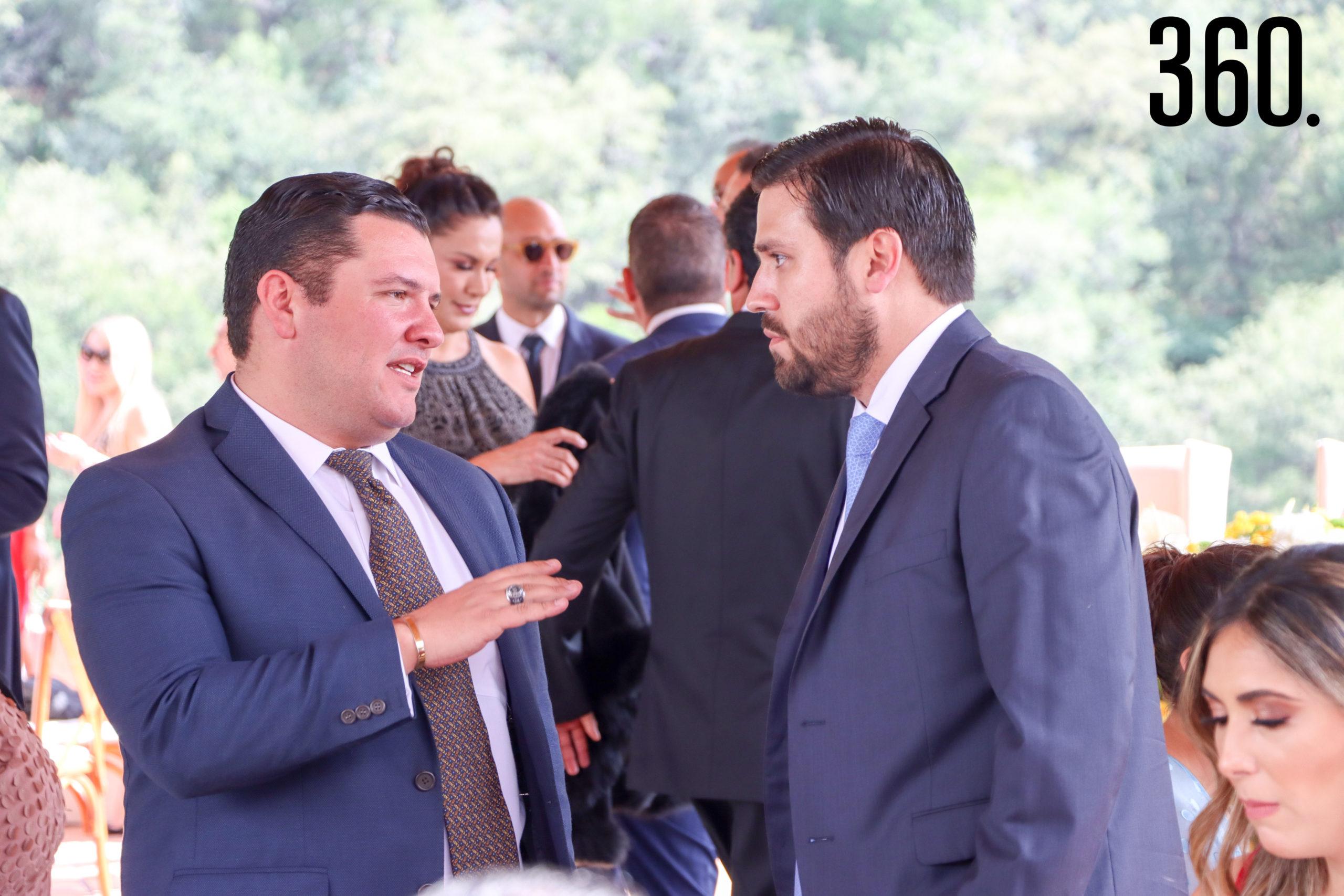 Javier César y Alfonso Villarreal.