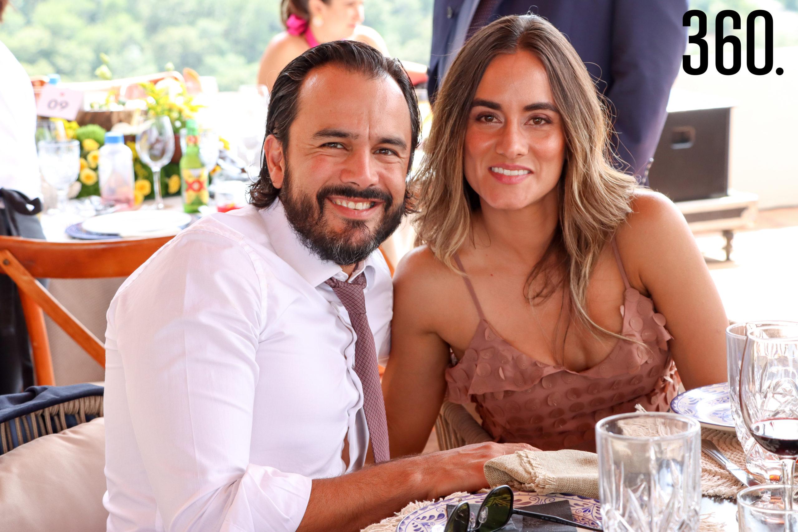Alberto García de Quevedo y Florencia Murguía.