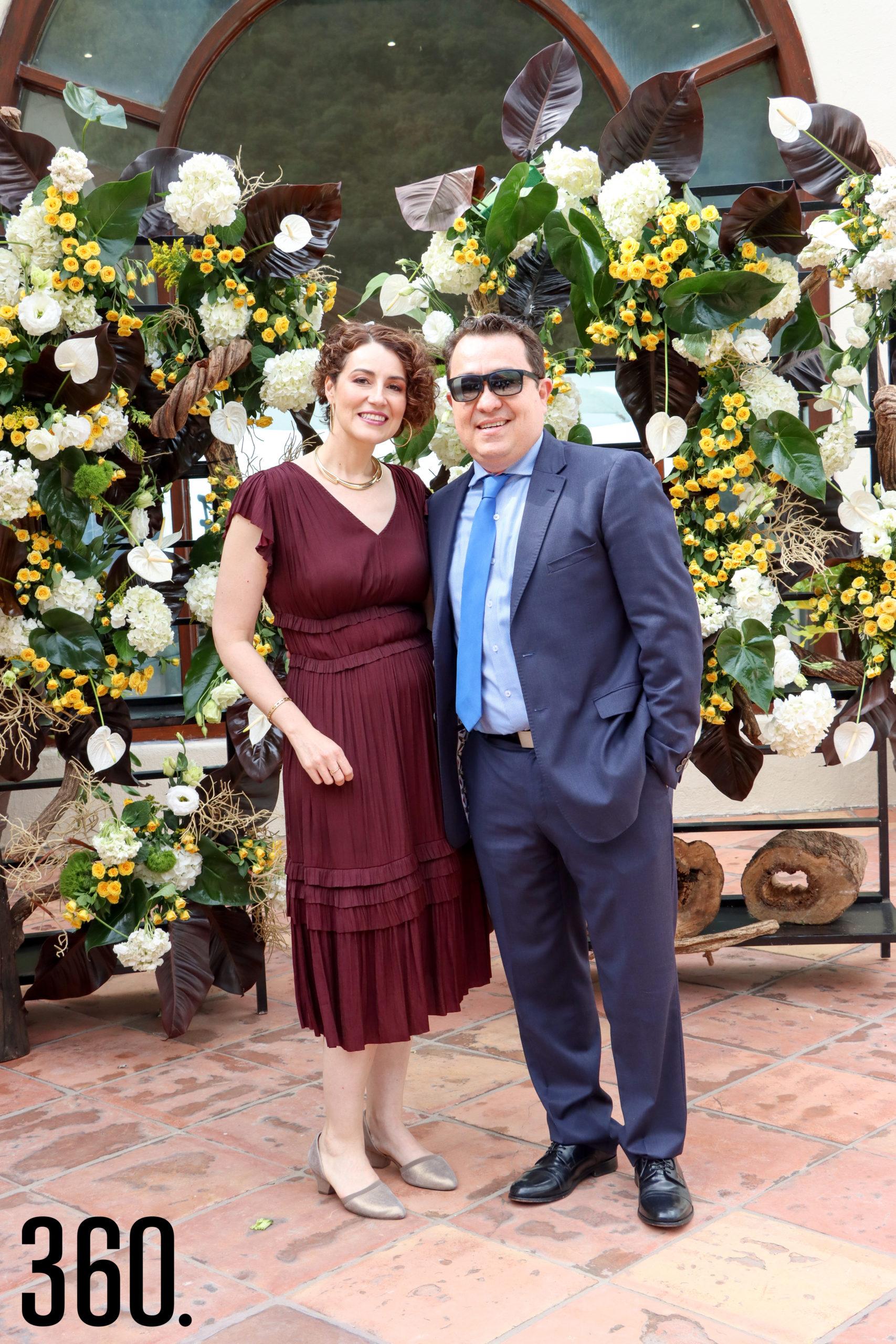 Ana Violeta y Francisco Turner.