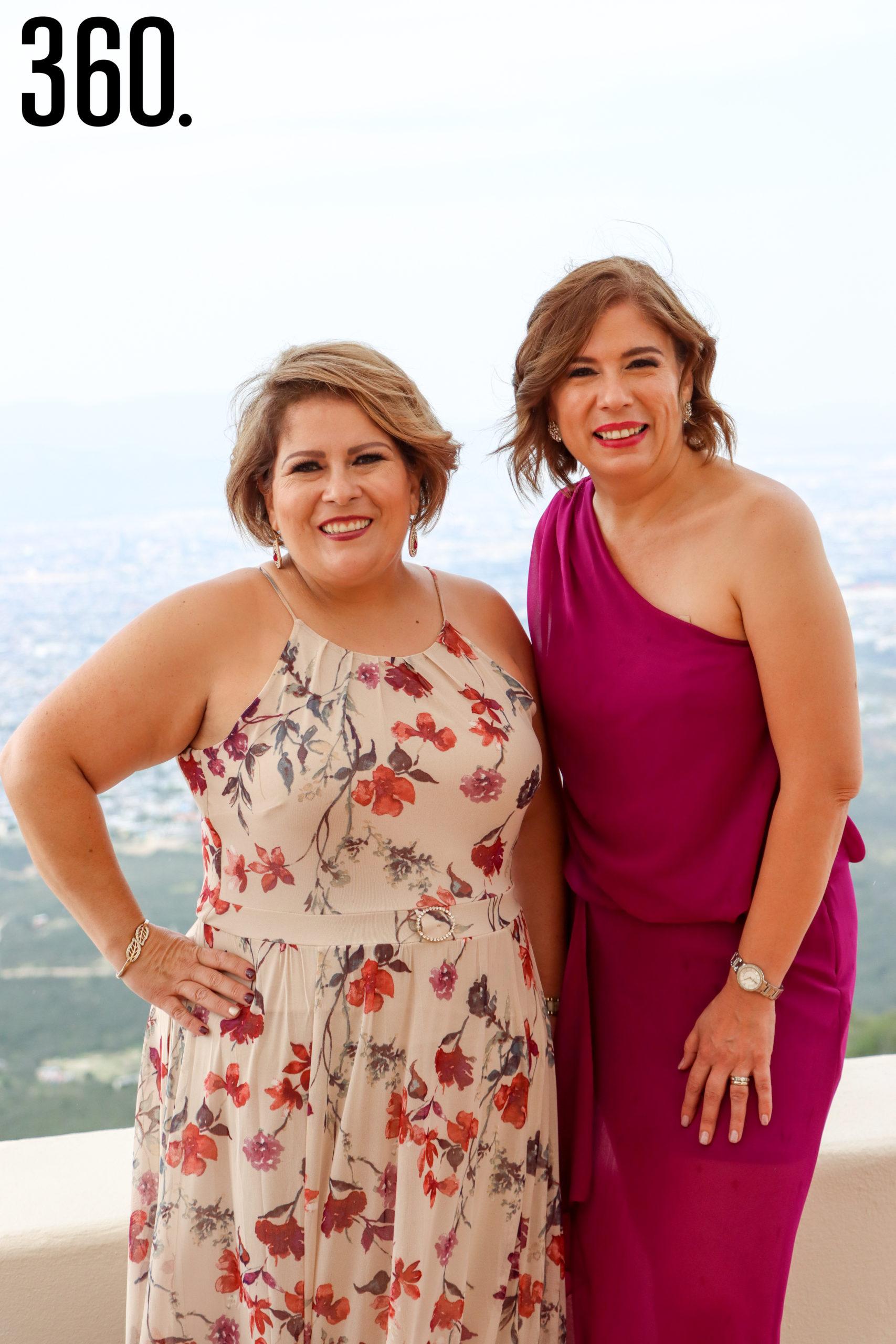 Marcela y Mélida Rumayor