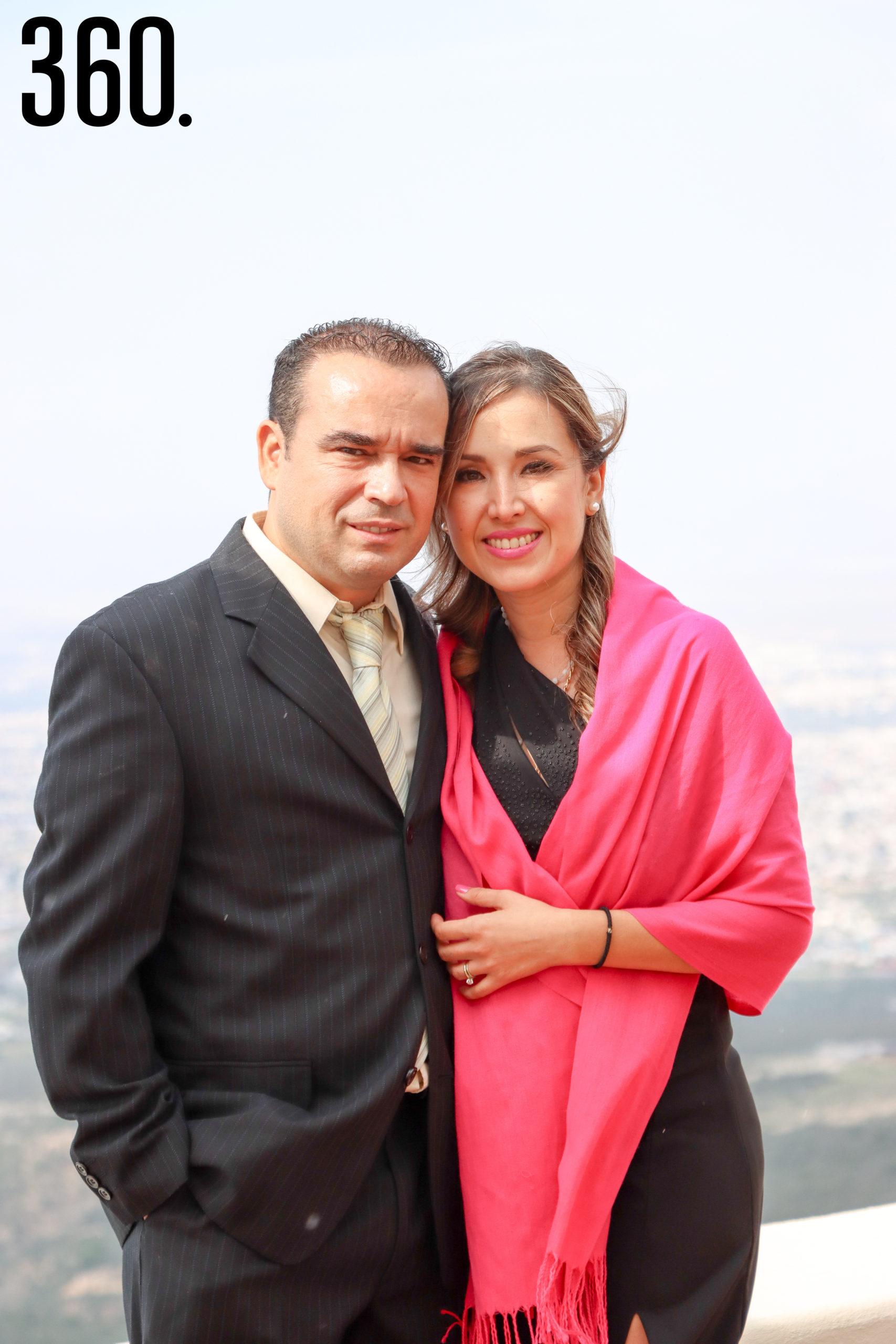 José Rumayor y Diana Torres.
