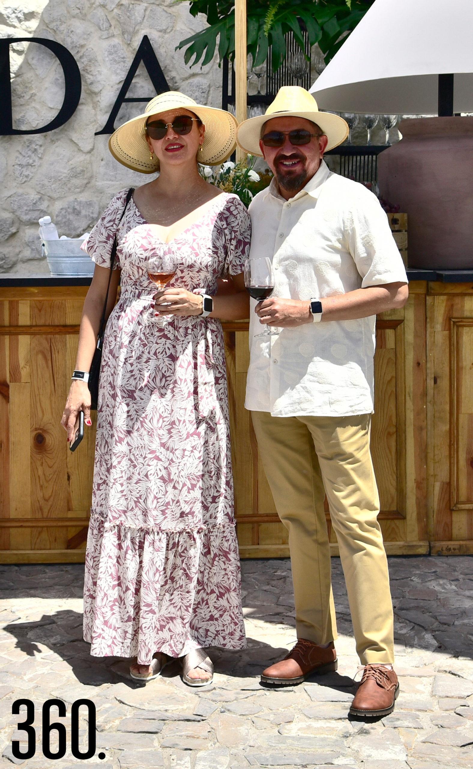 Celina Solórzano y Juan Manuel Ayala.