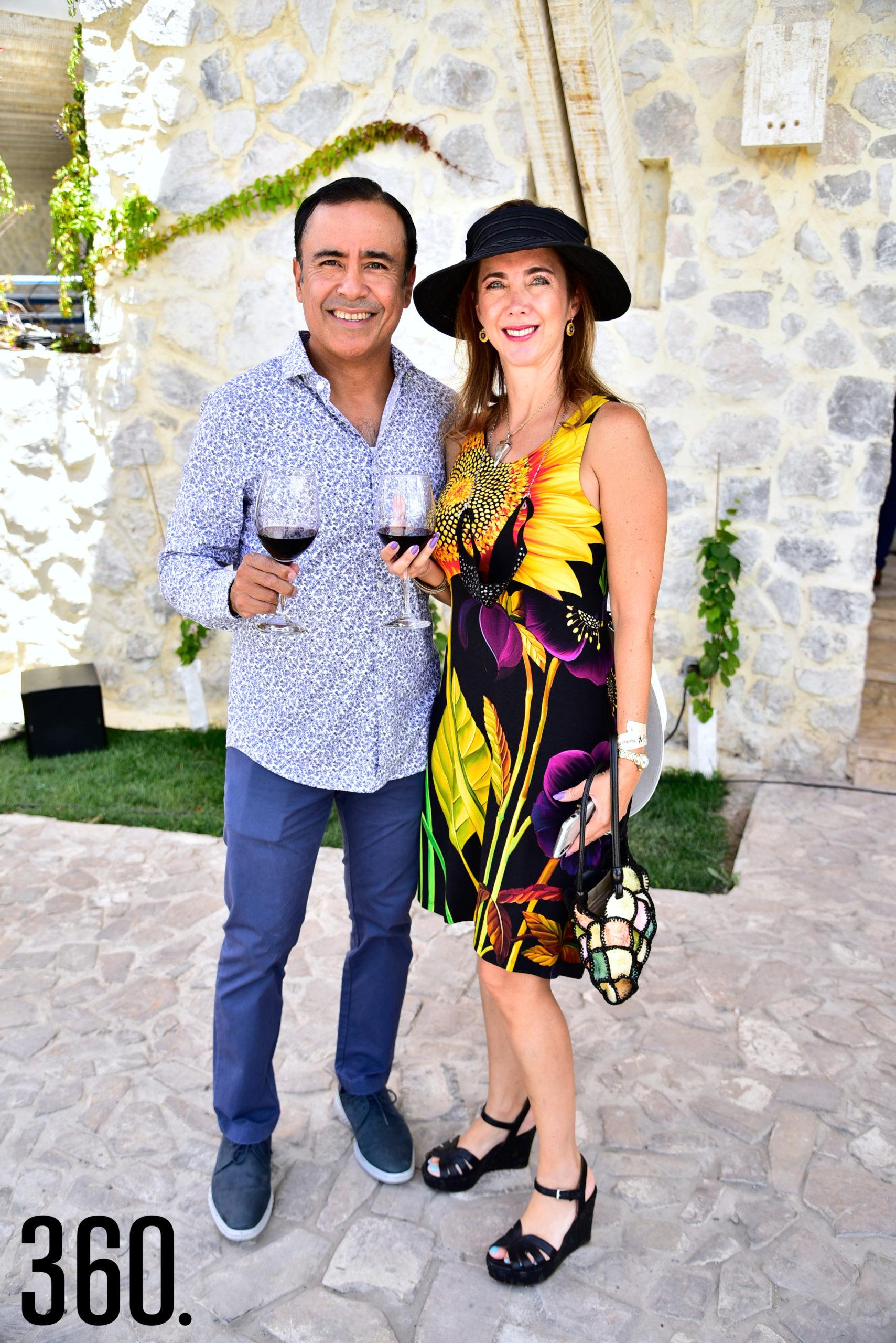 Héctor Acevedo y Virginia Martínez.