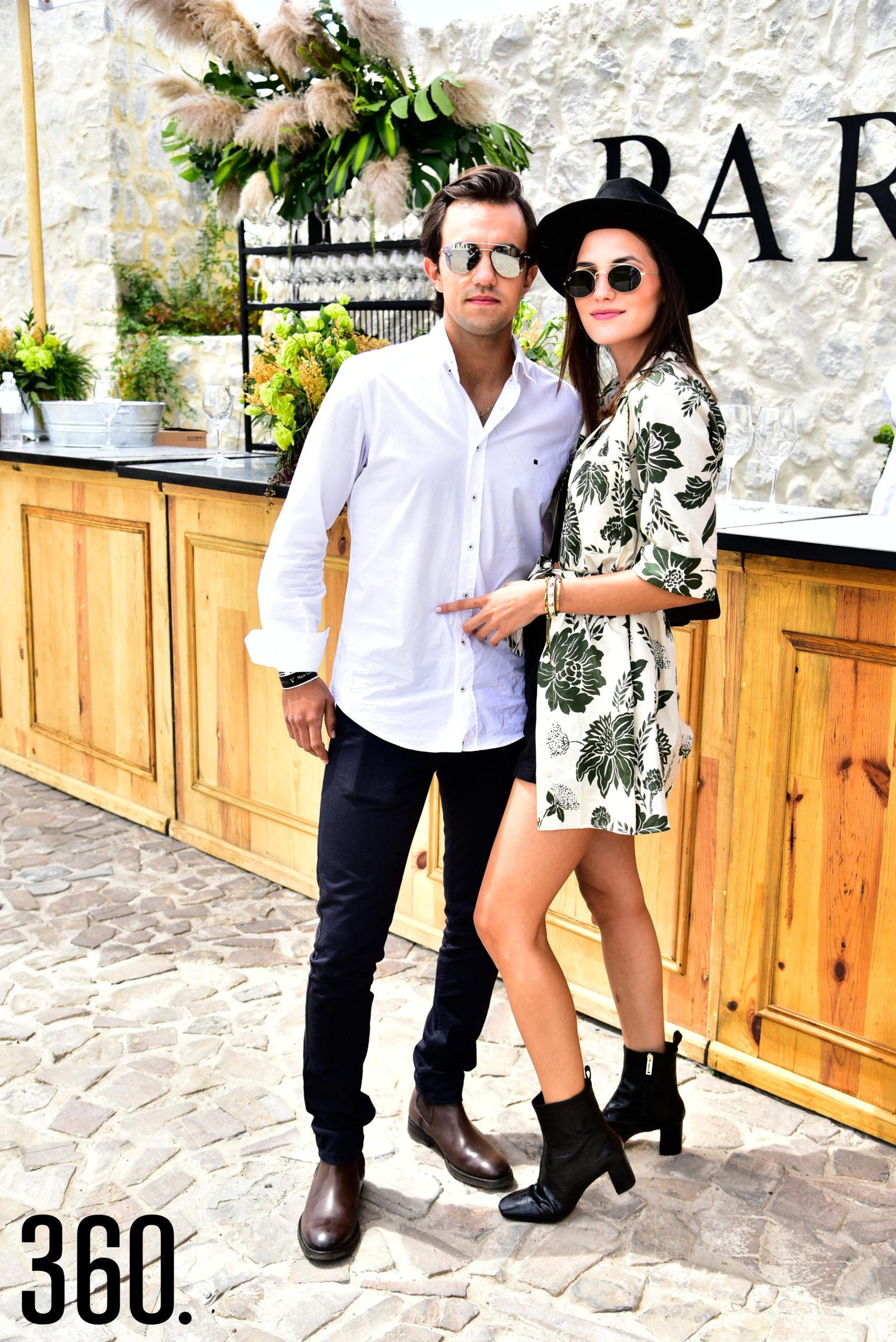 Santiago y Regina Grajeda.