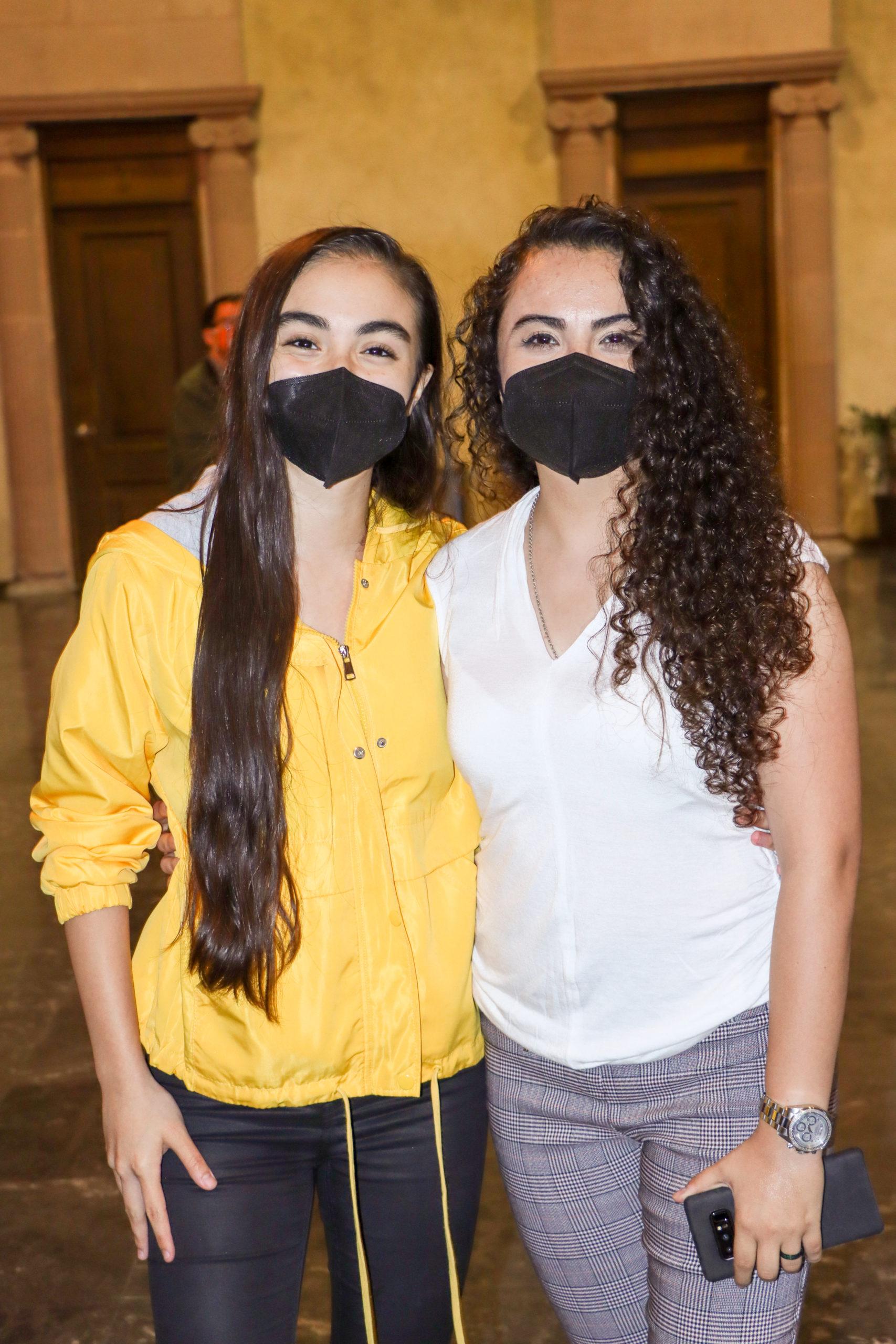 Sarahi Cavazos y Marijose Castellanos.