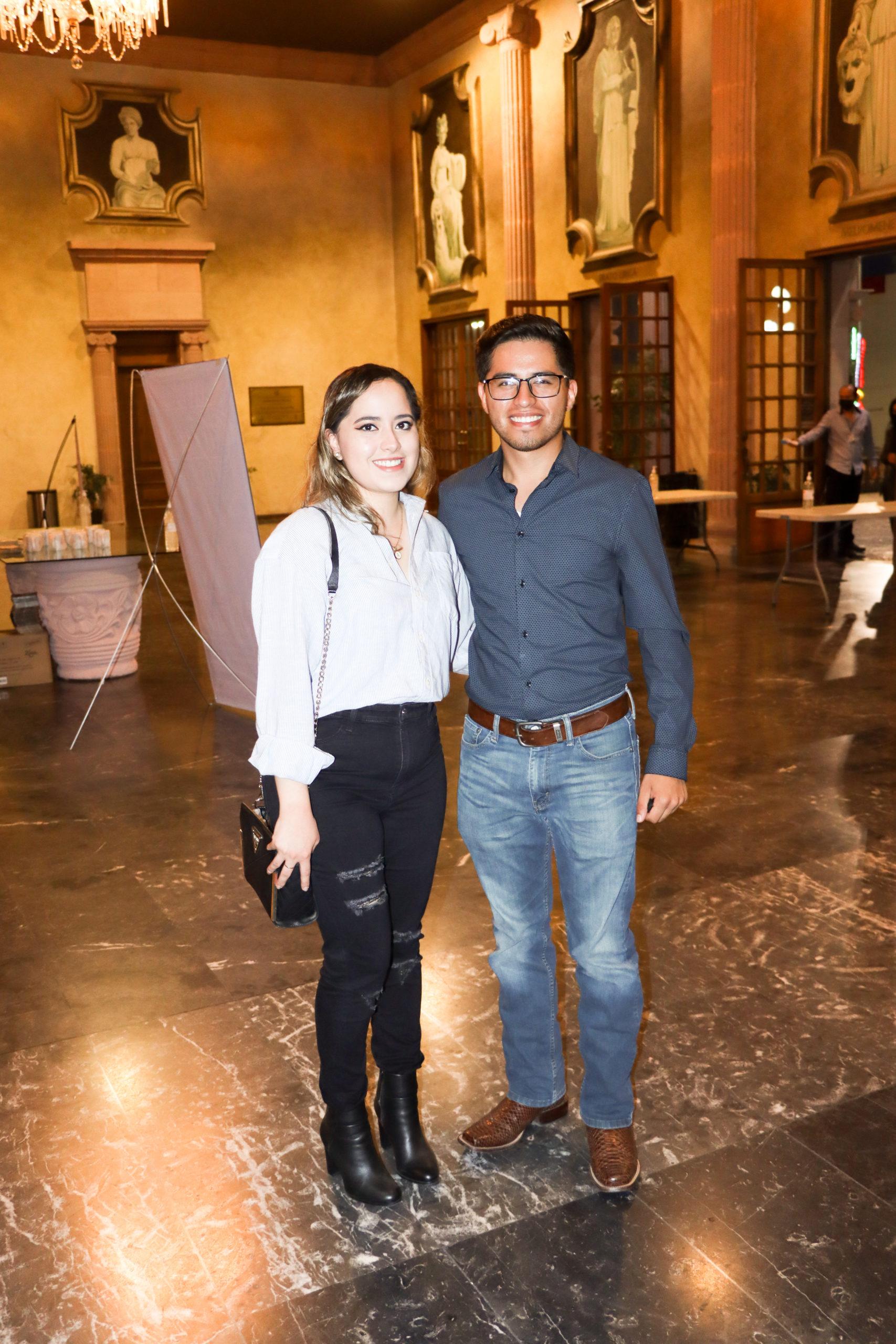 Alejandra y César Juárez.