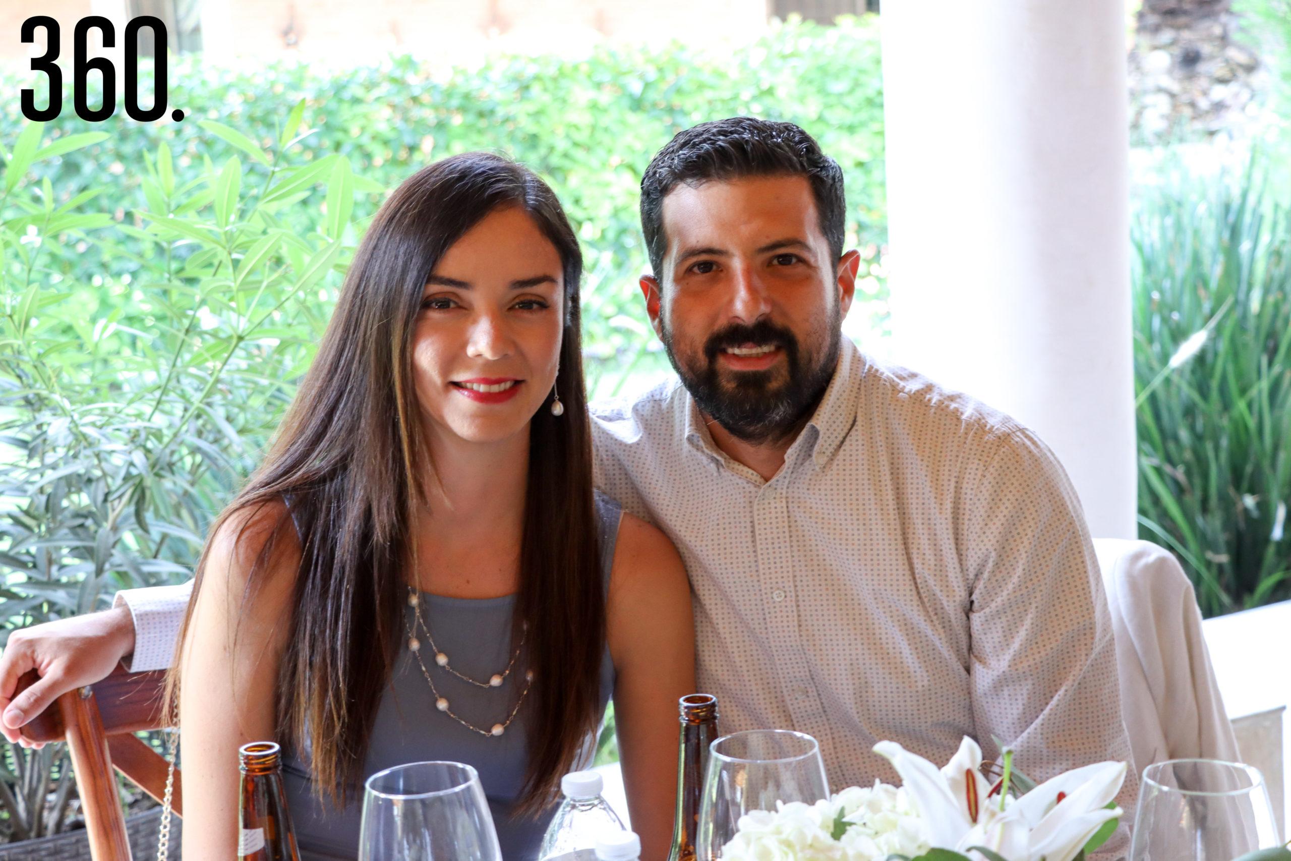 Lilian Mendoza y Francisco Aguirre.