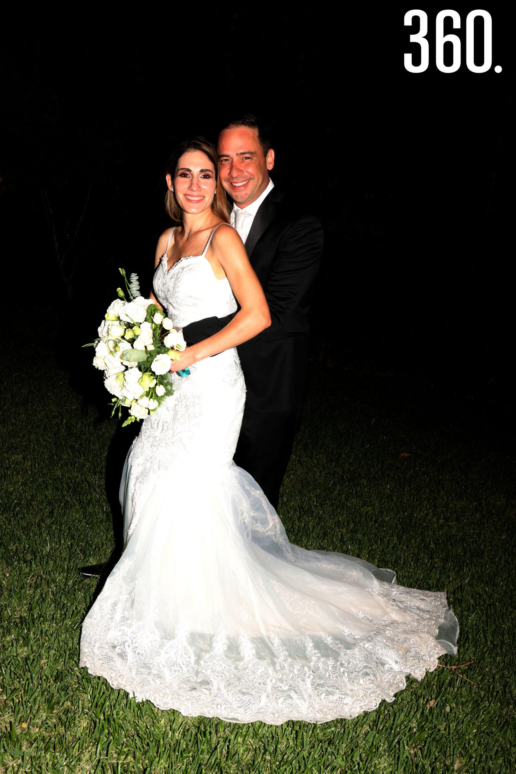 Jorge Arizpe Jiménez y María Alejandra de Anda Chávez unieron sus vidas en matrimonio en la Hacienda Guadalupe.