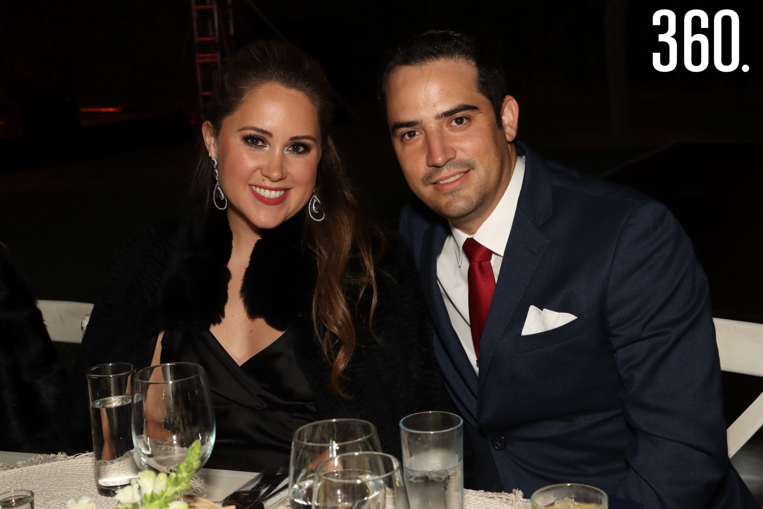 Nicole Ferrara y Jesús Saro.
