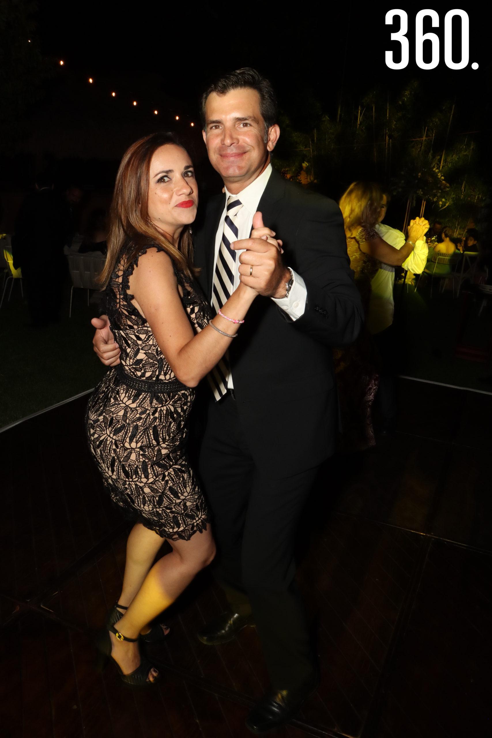 Judith Flores y Héctor Gaona.