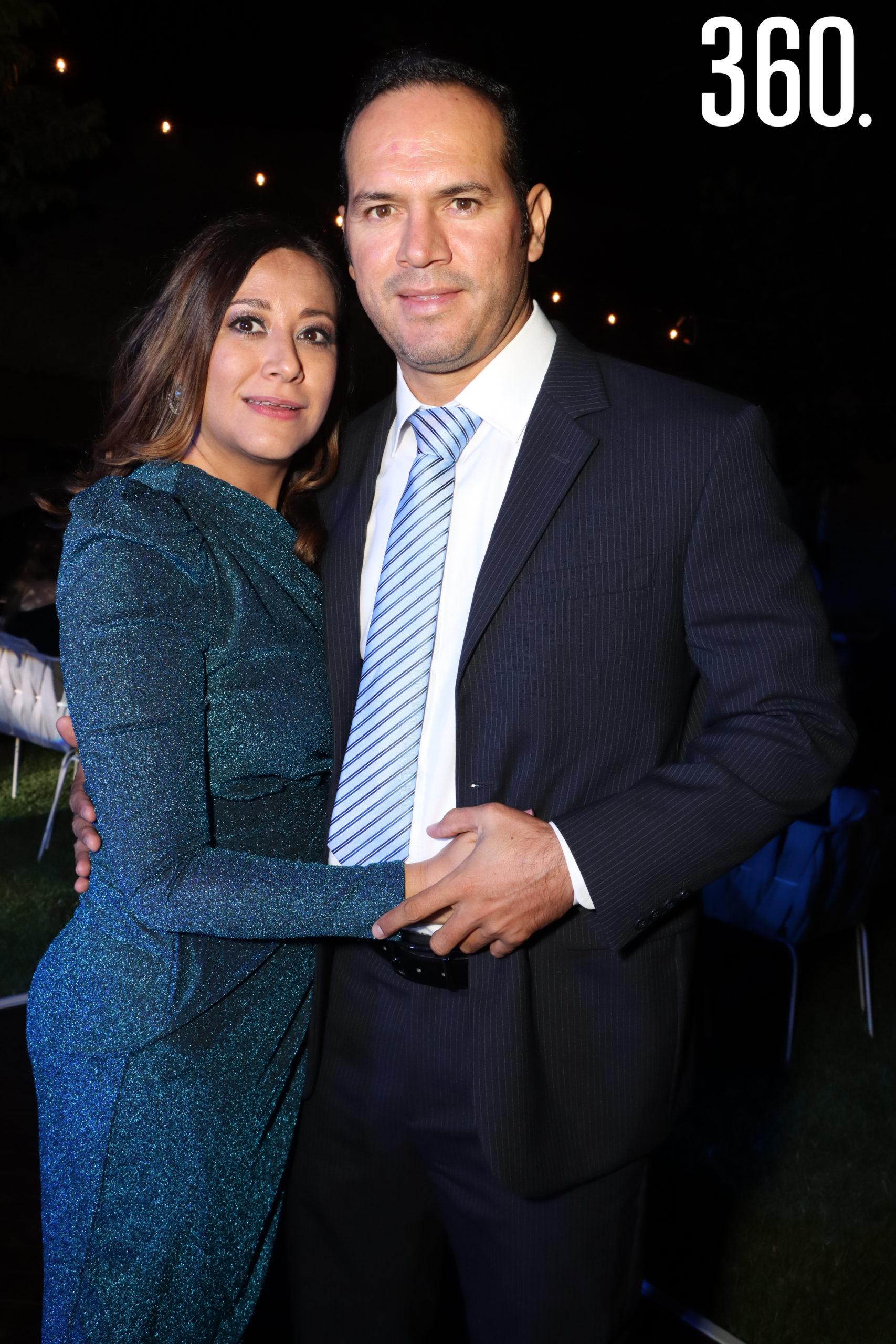 Elsa Sánchez y Daniel Fuentes.