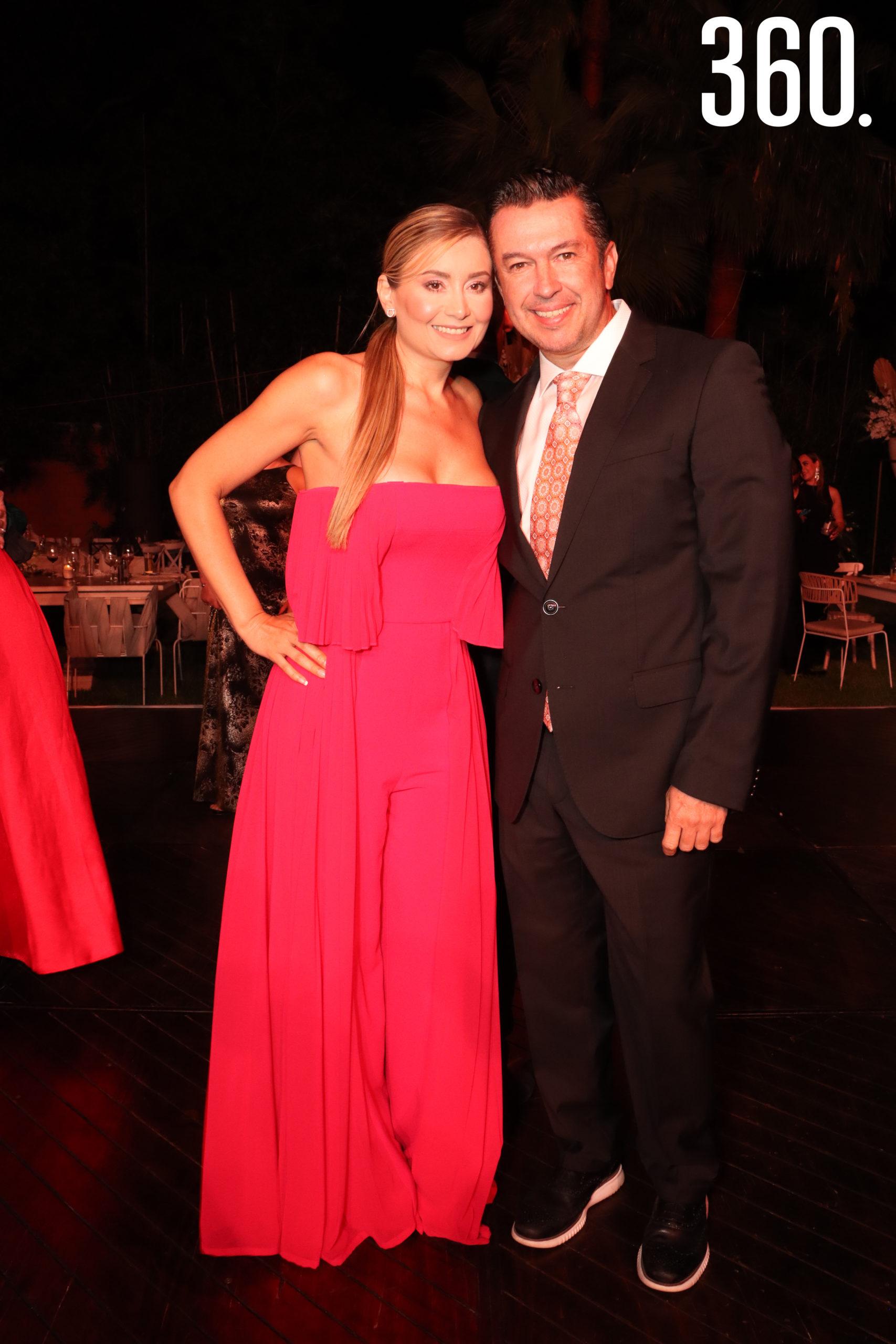 Brenda Cortés y Luis Fernando Valdés.