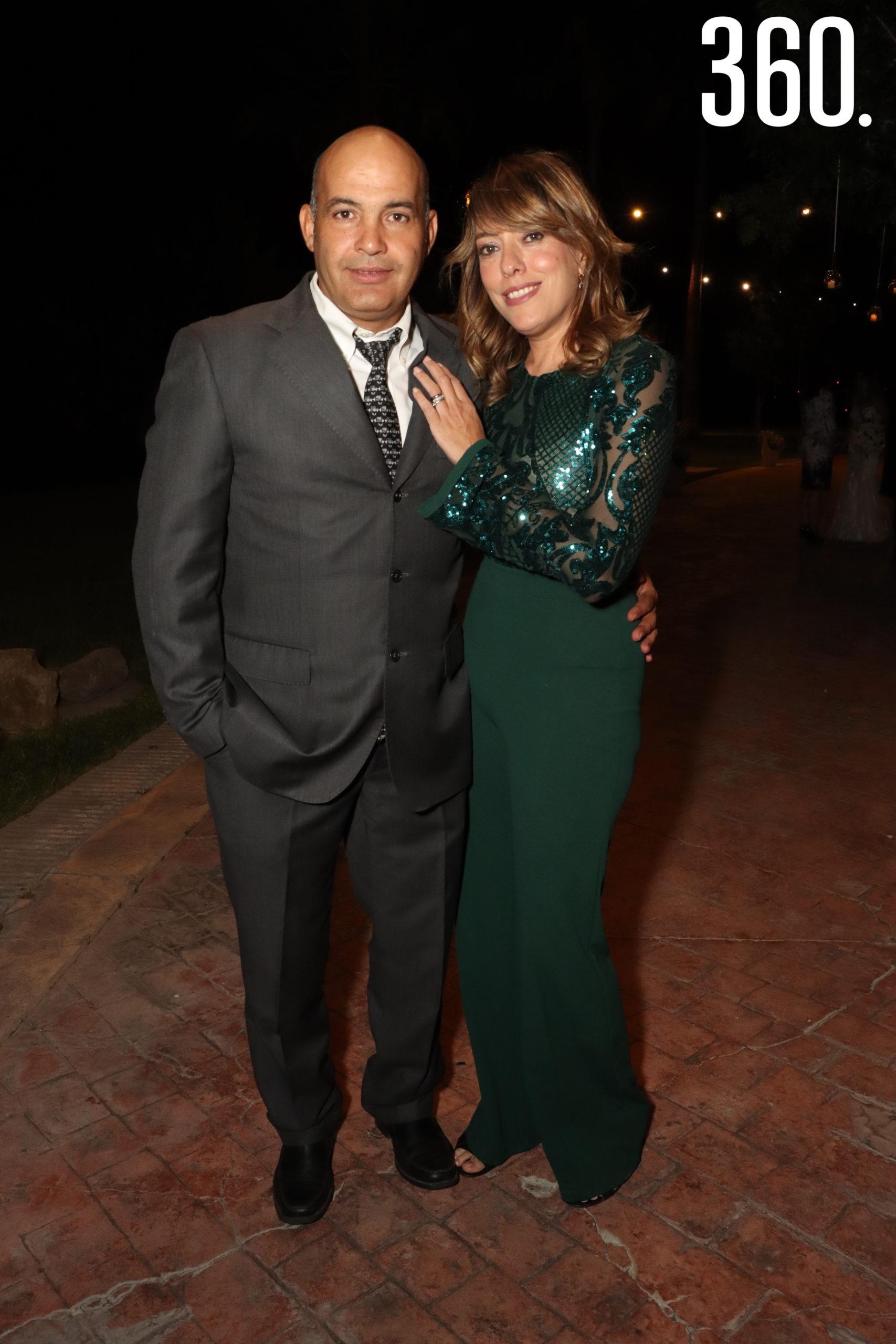 David Rodríguez y Paola Pineda.