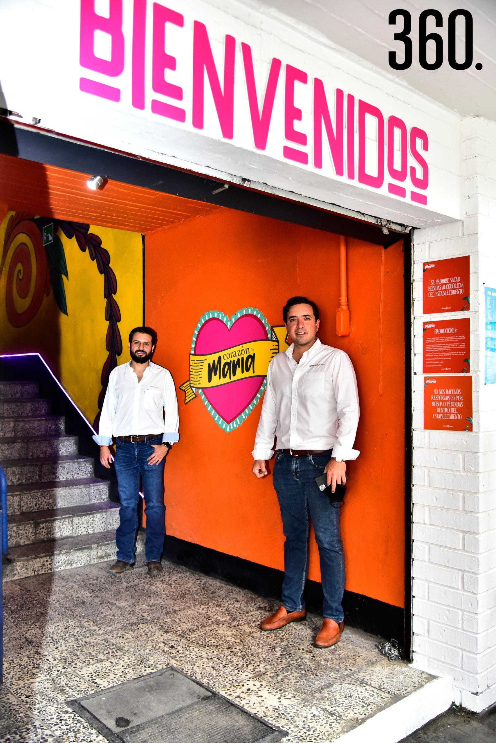 Luis Ricalde y Rodrigo Ruvalcaba.