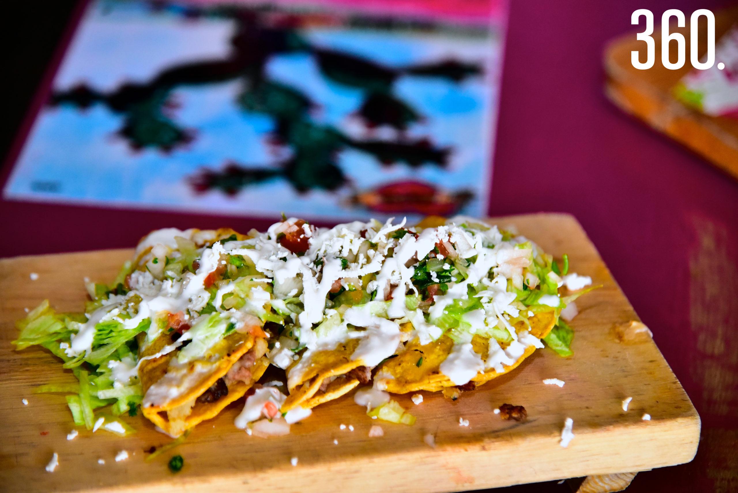 Tacos Huastecos.