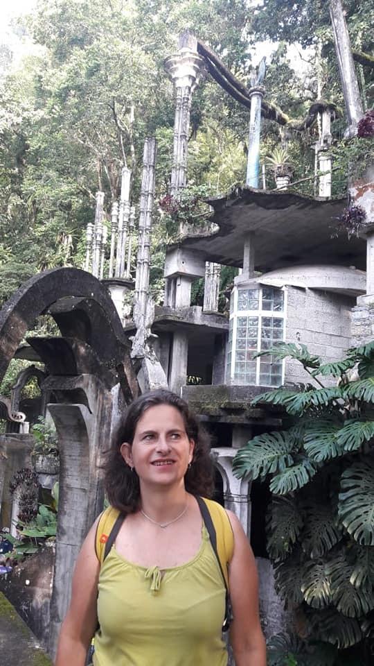 En el jardín surrealista de Edward James en Xilitla, en la Huasteca Potosina.