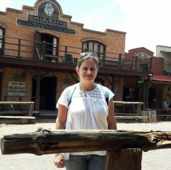 En el Paseo del Viejo Oeste, en Durango.