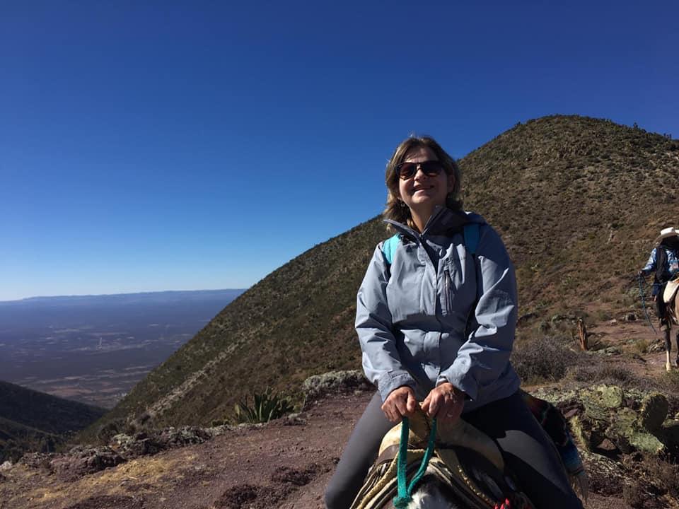 En el Cerro del Quemado, en Real de Catorce.