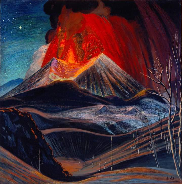 'Erupción de Paricutín'.