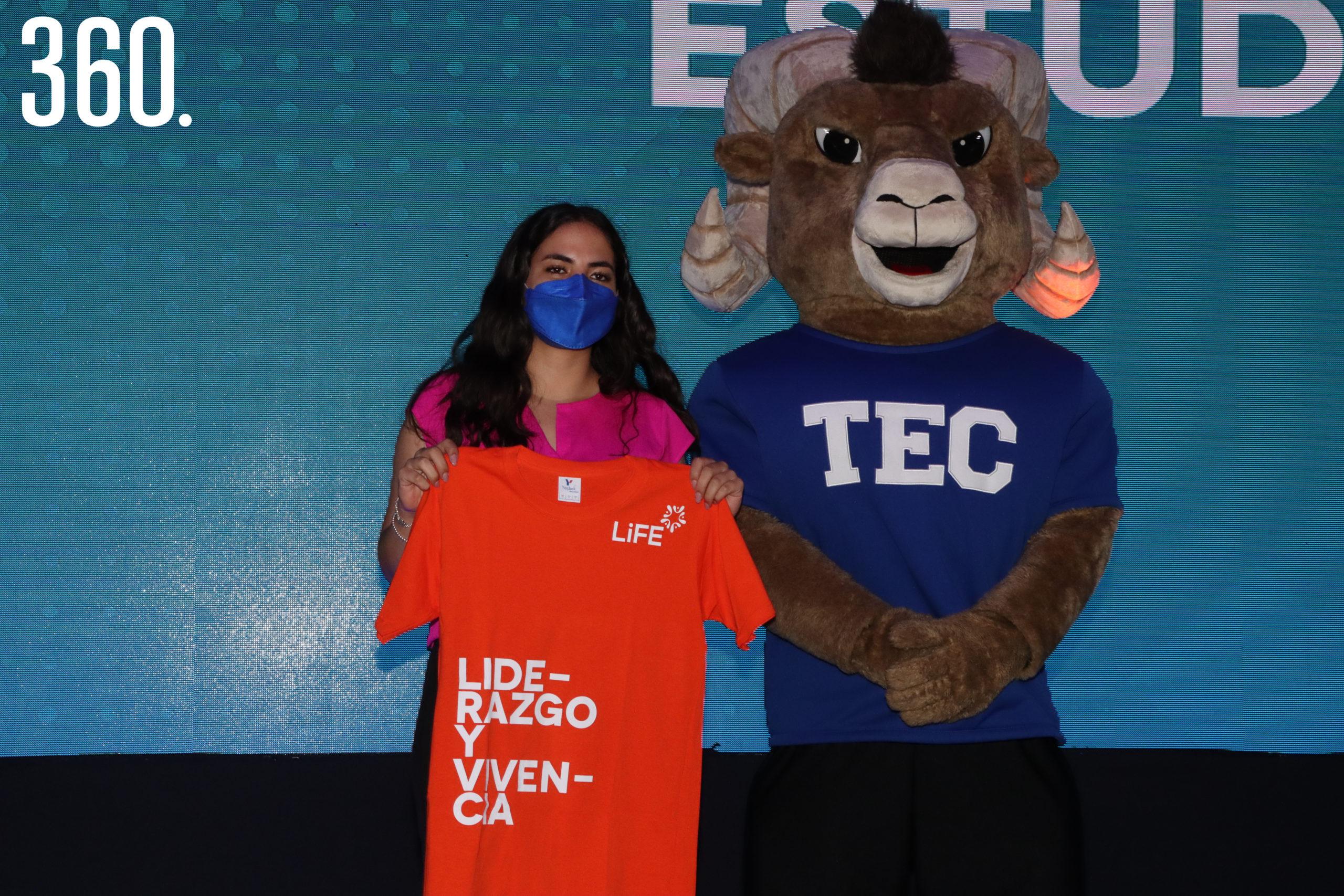 Andrea Benavides del área de Liderazgo y Vivencia Generación 2021.