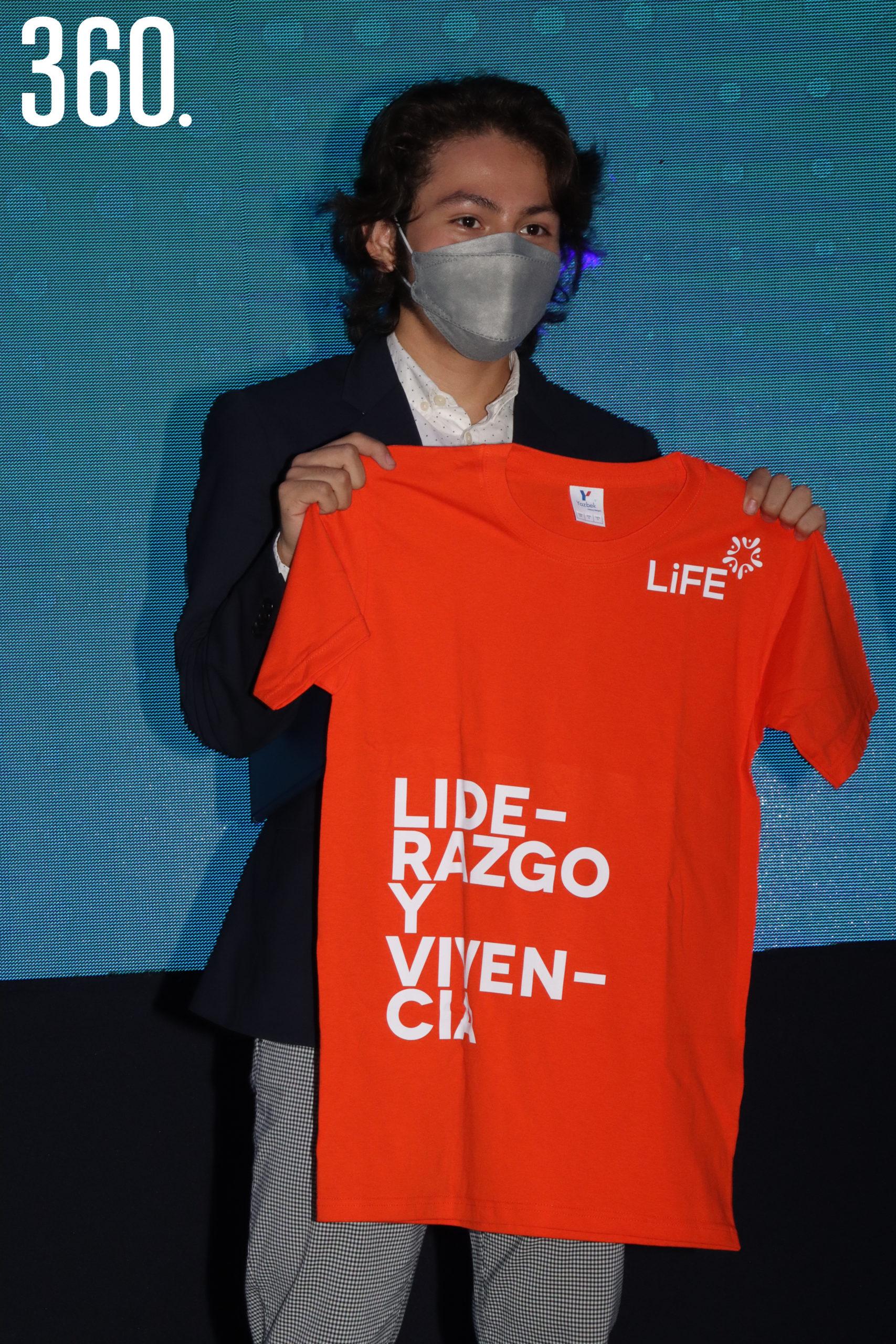 Ariel Ontiveros de Liderazgo y Vivencia Generación 2021.