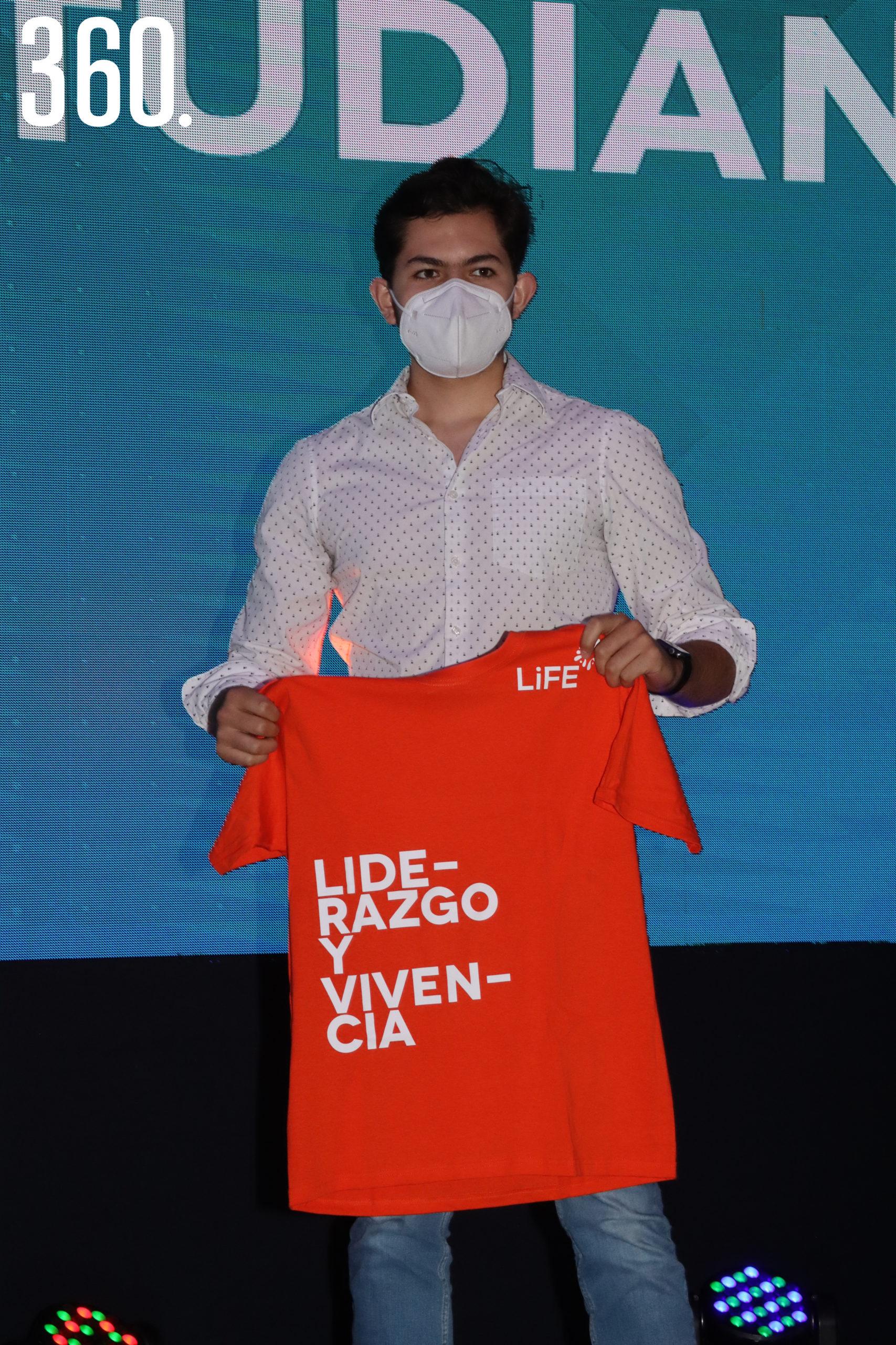 Humberto González del área de Liderazgo y Vivencia Generación 2020.