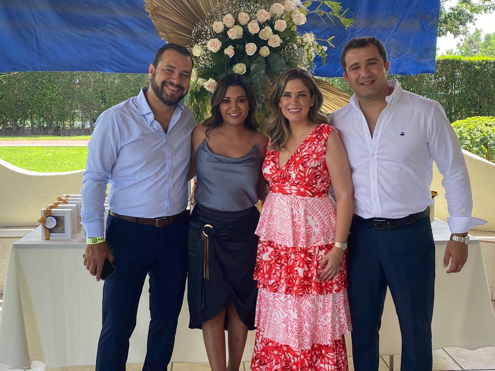 Roberto Guzmán, Alexandra Aguirre, Bremia Cepeda y Diego Heriberto Fuentes.