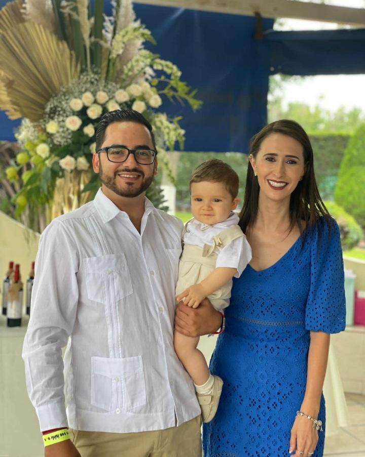 Melchor Cepeda, Heriberto Fuentes y Sofí Franco.
