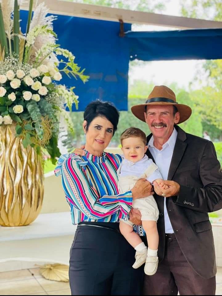 Salma Destenave, Heriberto Fuentes y Melchor Cepeda.