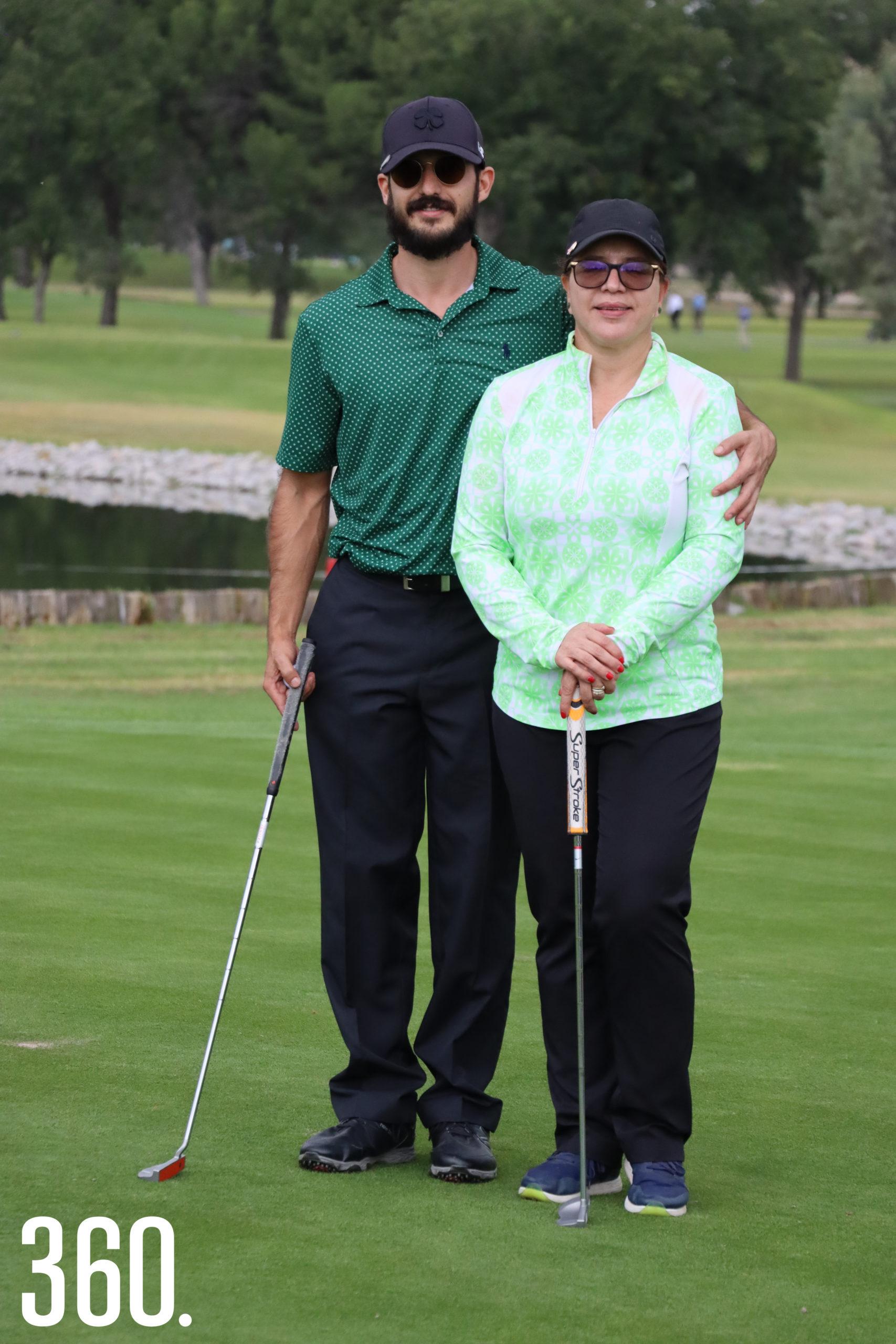 José Luis Figueroa y Silvia Flores Siller.