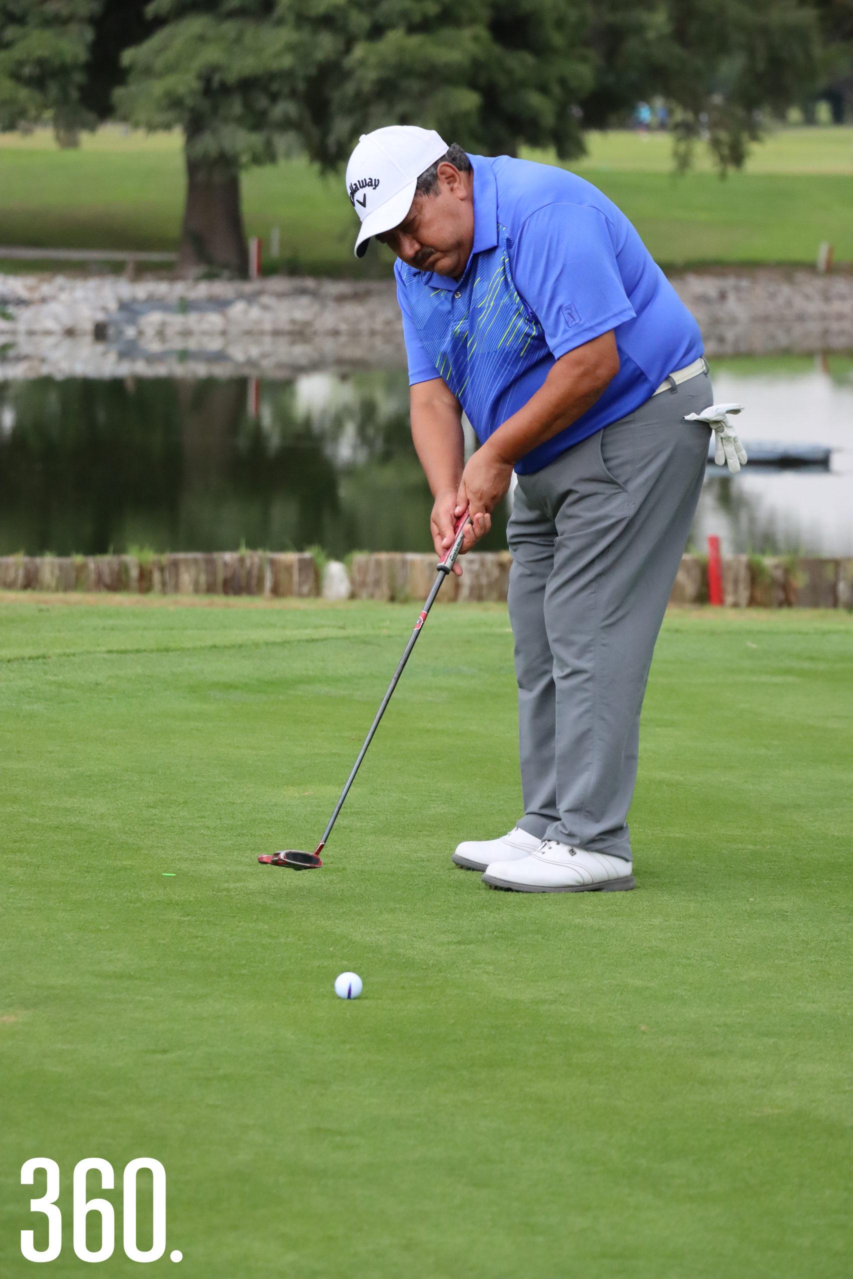 Gilberto Martínez ha participado en las 35 ediciones del torneo rotario.