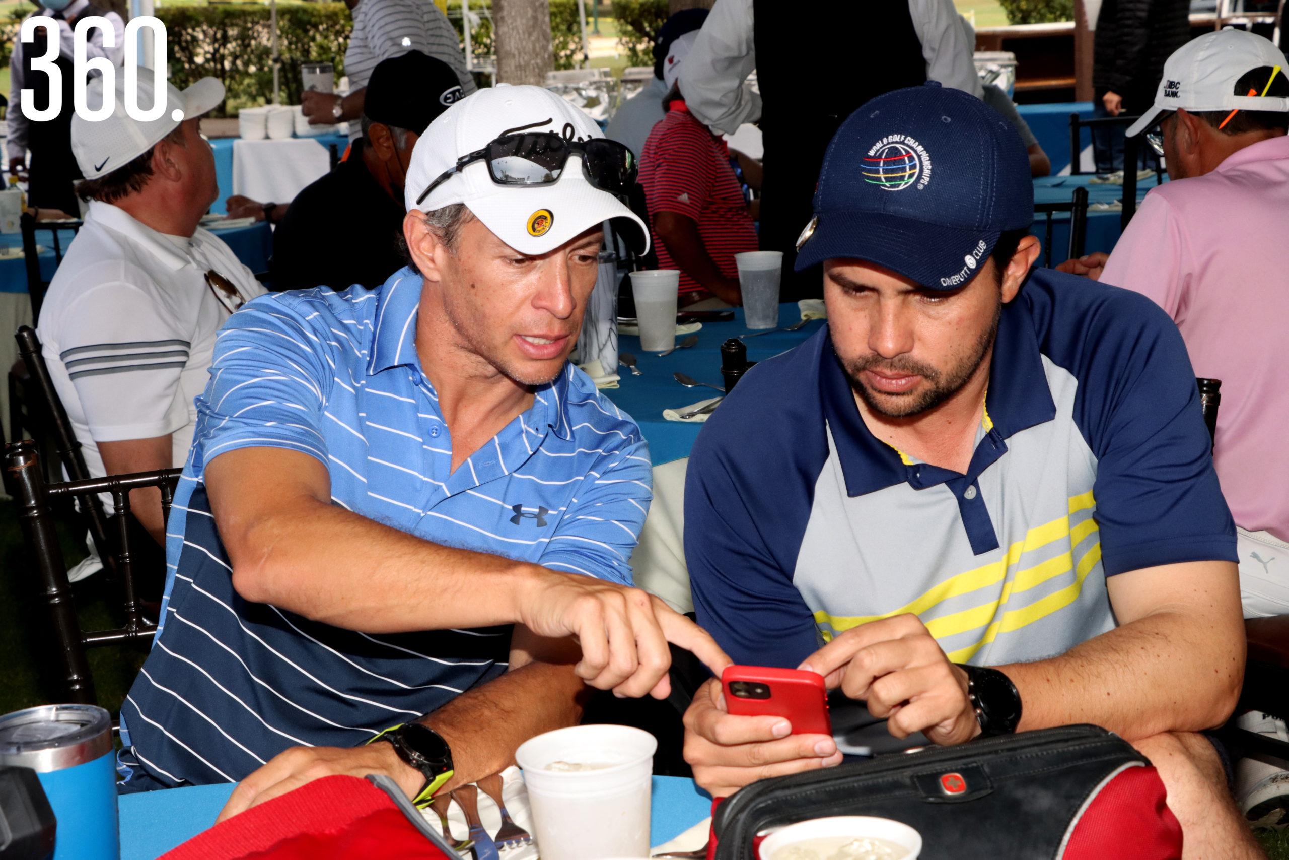Enrique Romero y José Díaz.