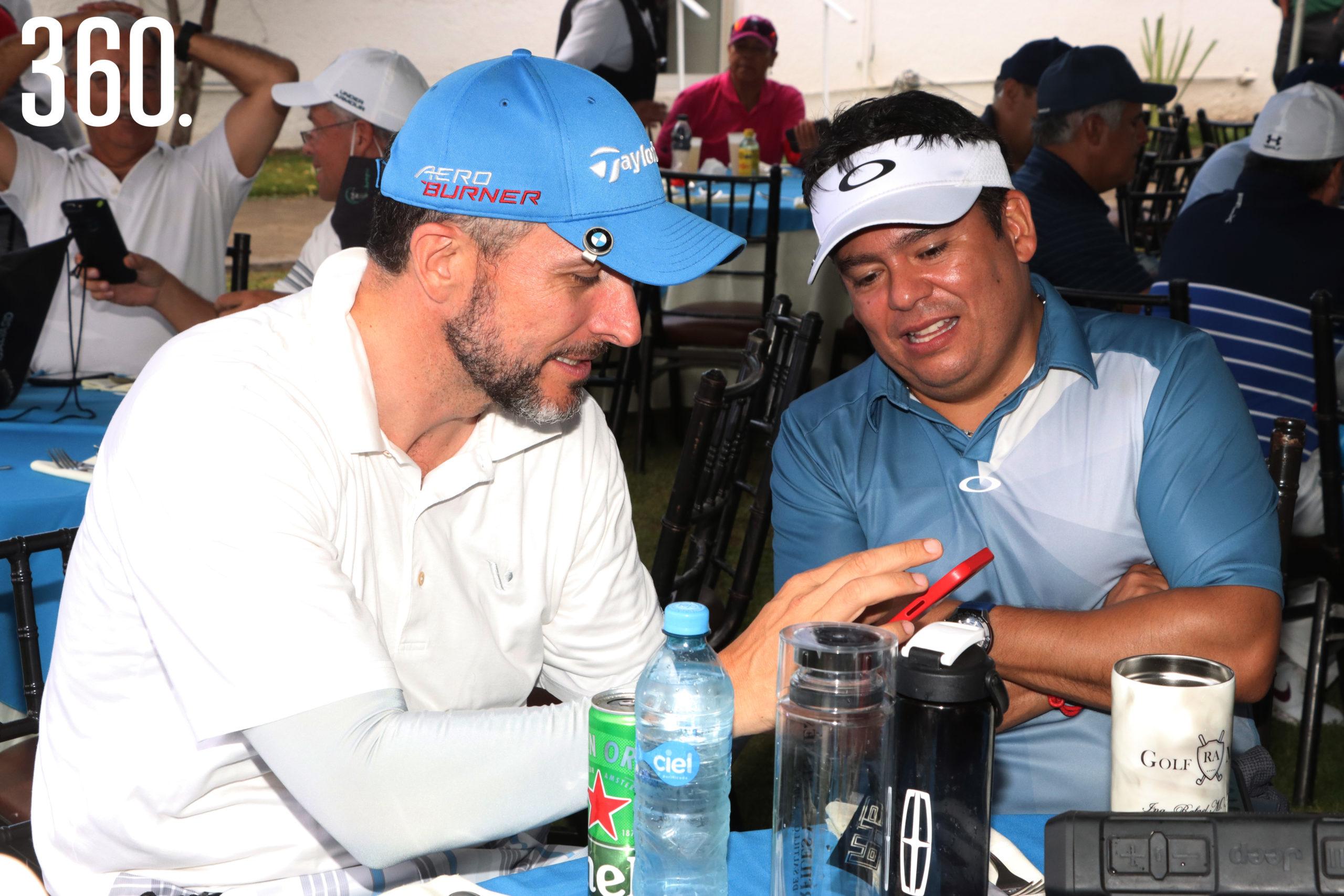Alejandro Elizondo y Rafa Aburto.