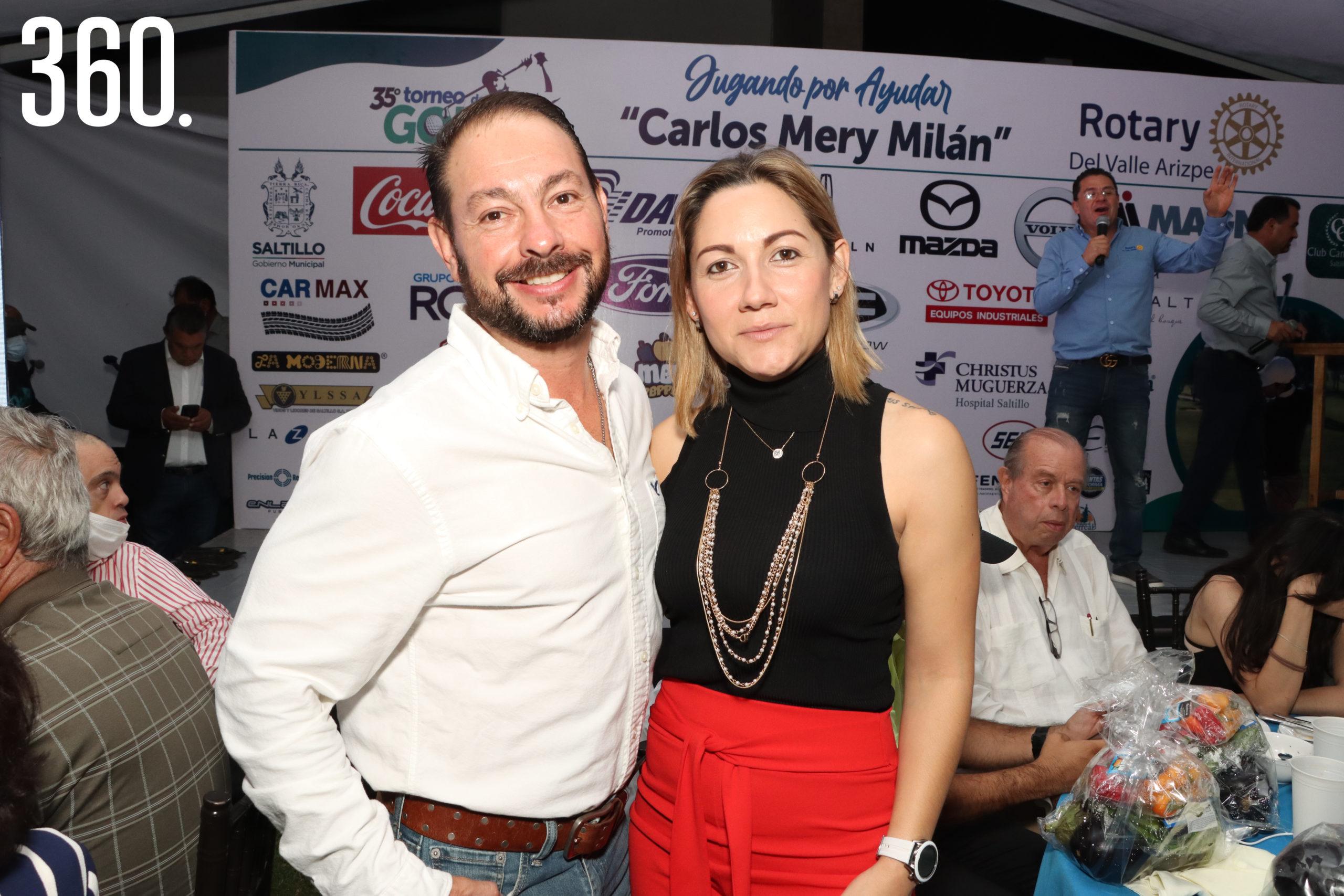 Álvaro Martínez y Ale Salgado.