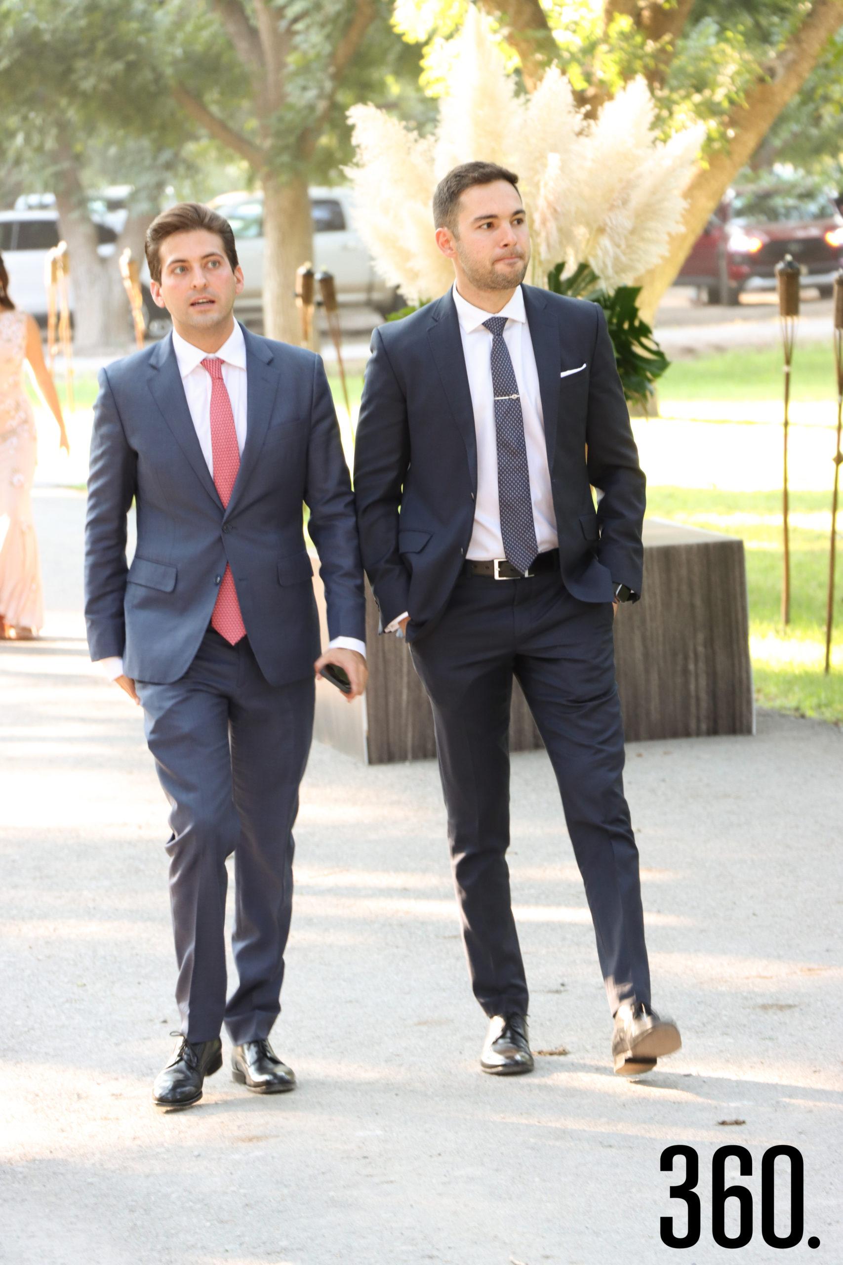 Blas Flores y Hernán Rodríguez.