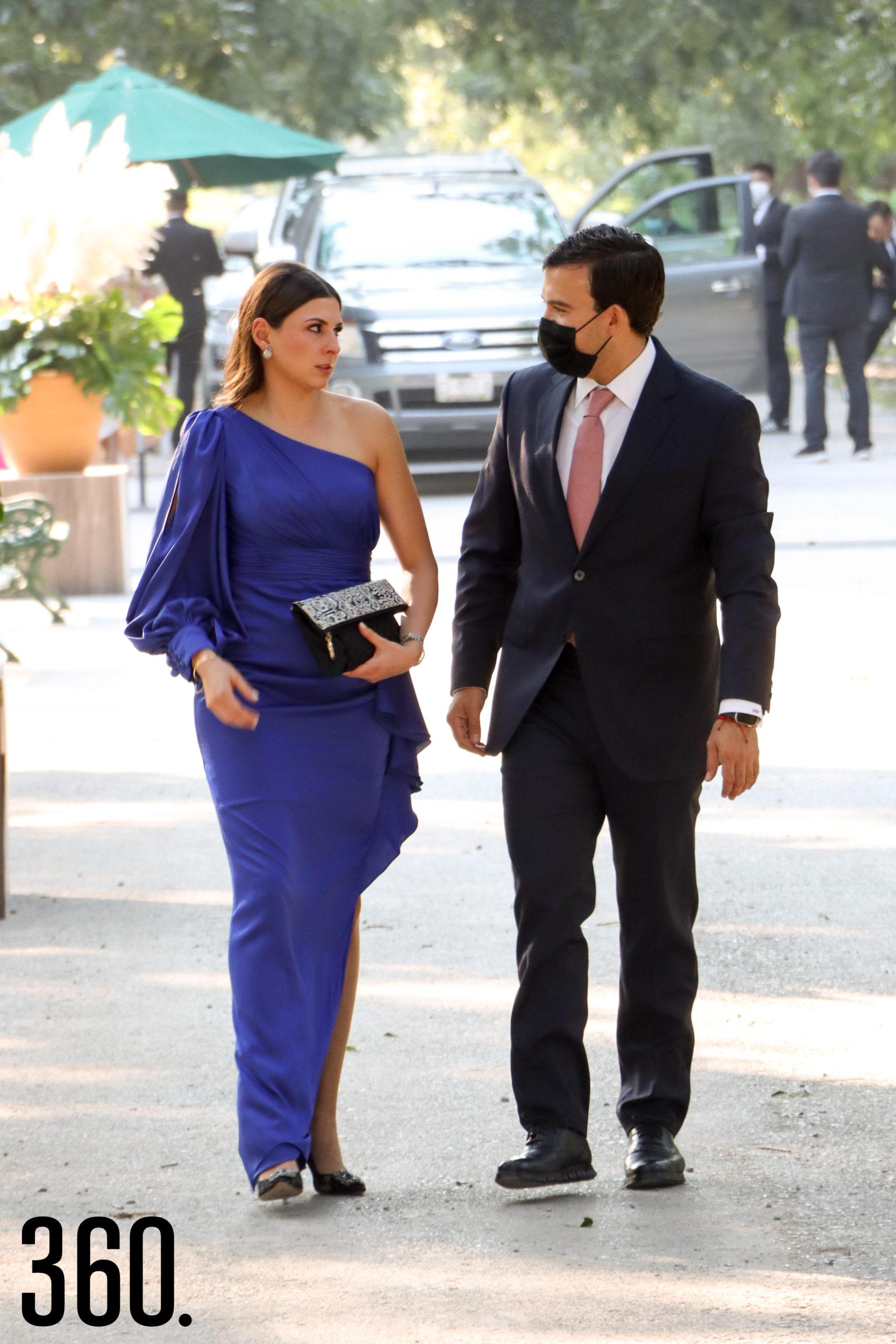 Alexandra Peña y Rolando González.