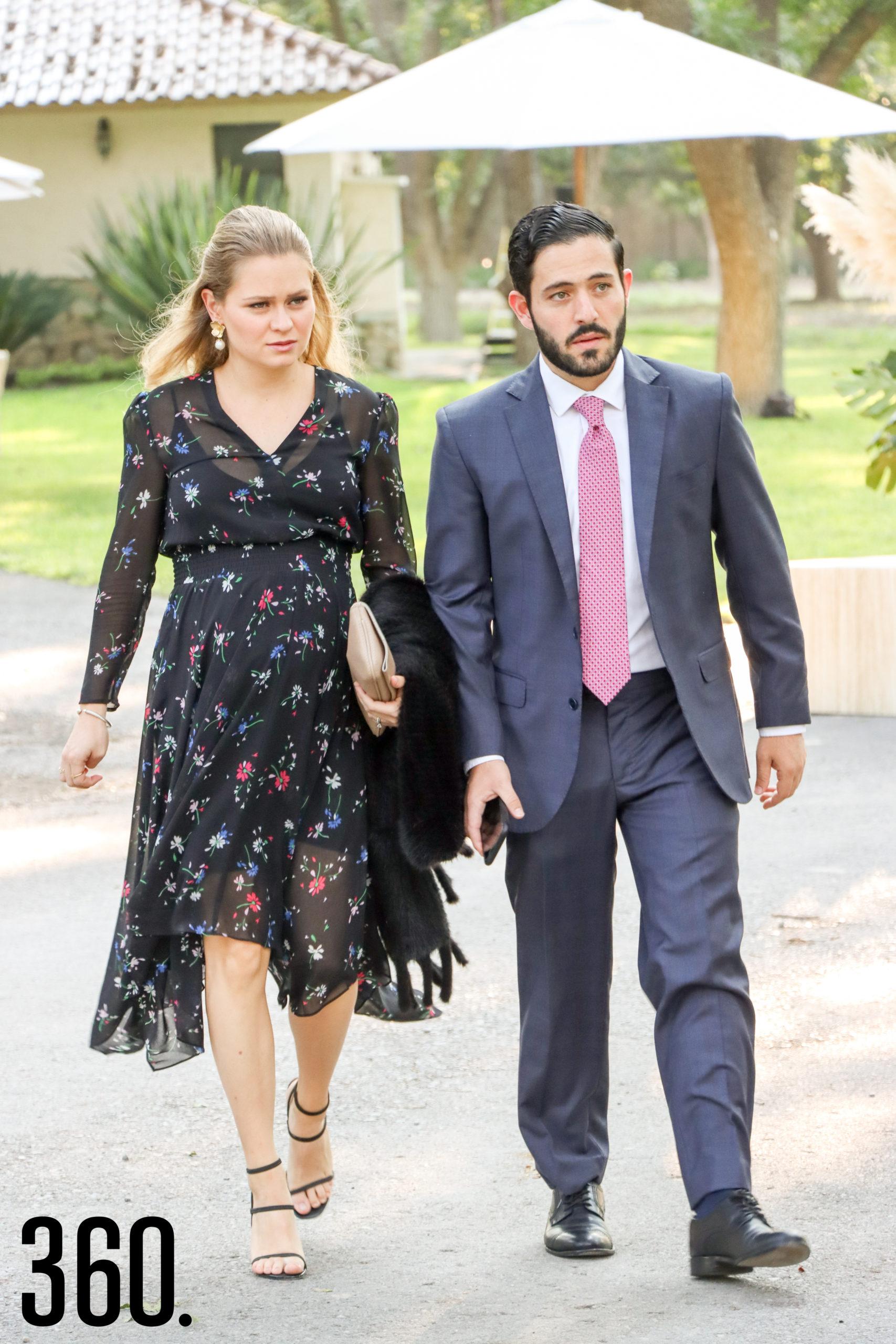 Ana Karla Arizpe y Julián Dávila.