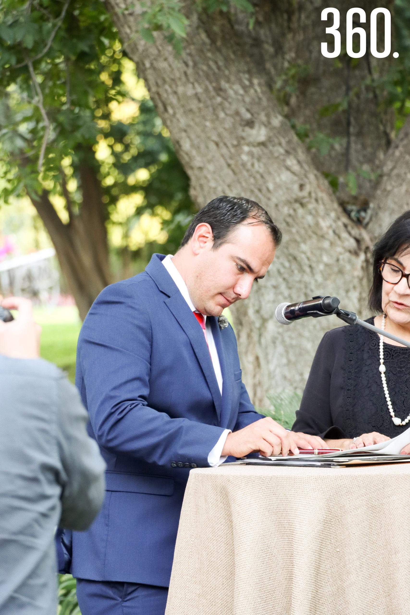 Arturo Talamás, testigo.