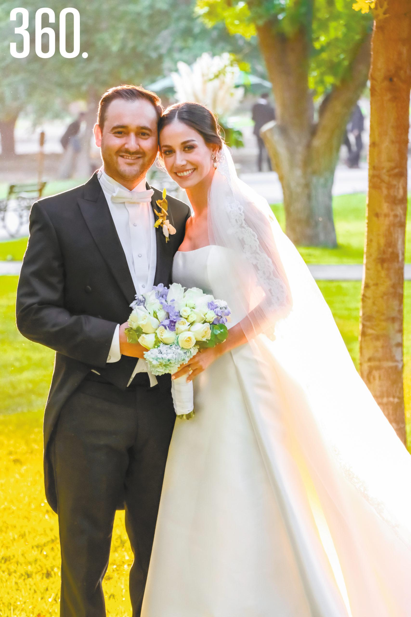 Ricardo Diego y María Gabriela Morales.