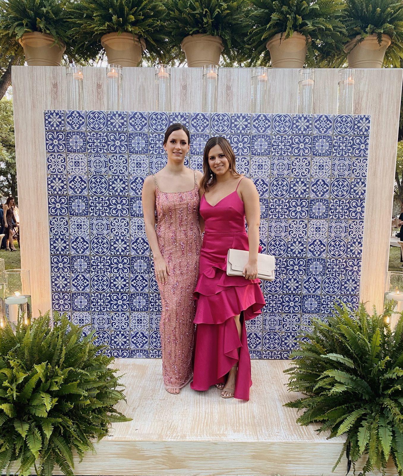 Valeria y María Alicia González Diego.