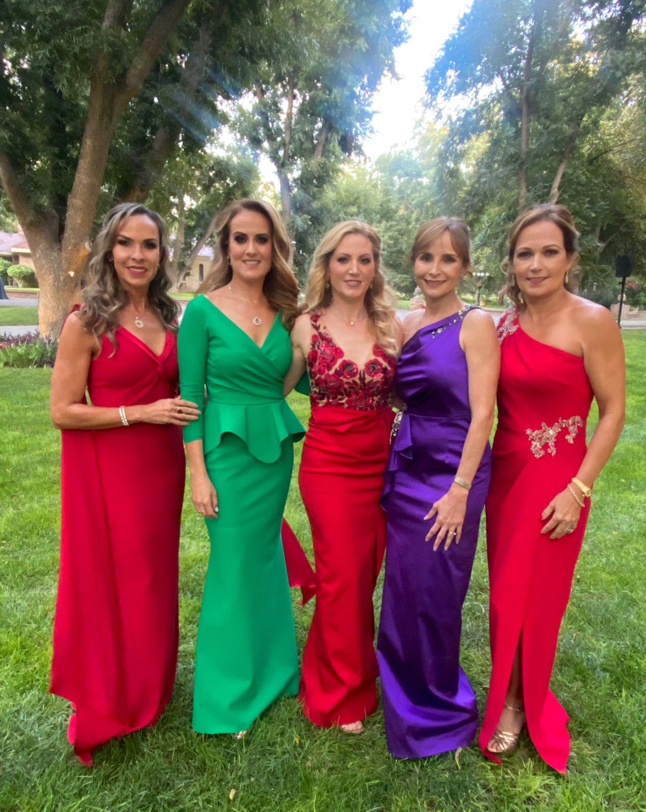 Melissa Moeller, Dolores Cárdenas, Gabriela Morales, María Hortensia Lomelí y Gabriela Cárdenas.